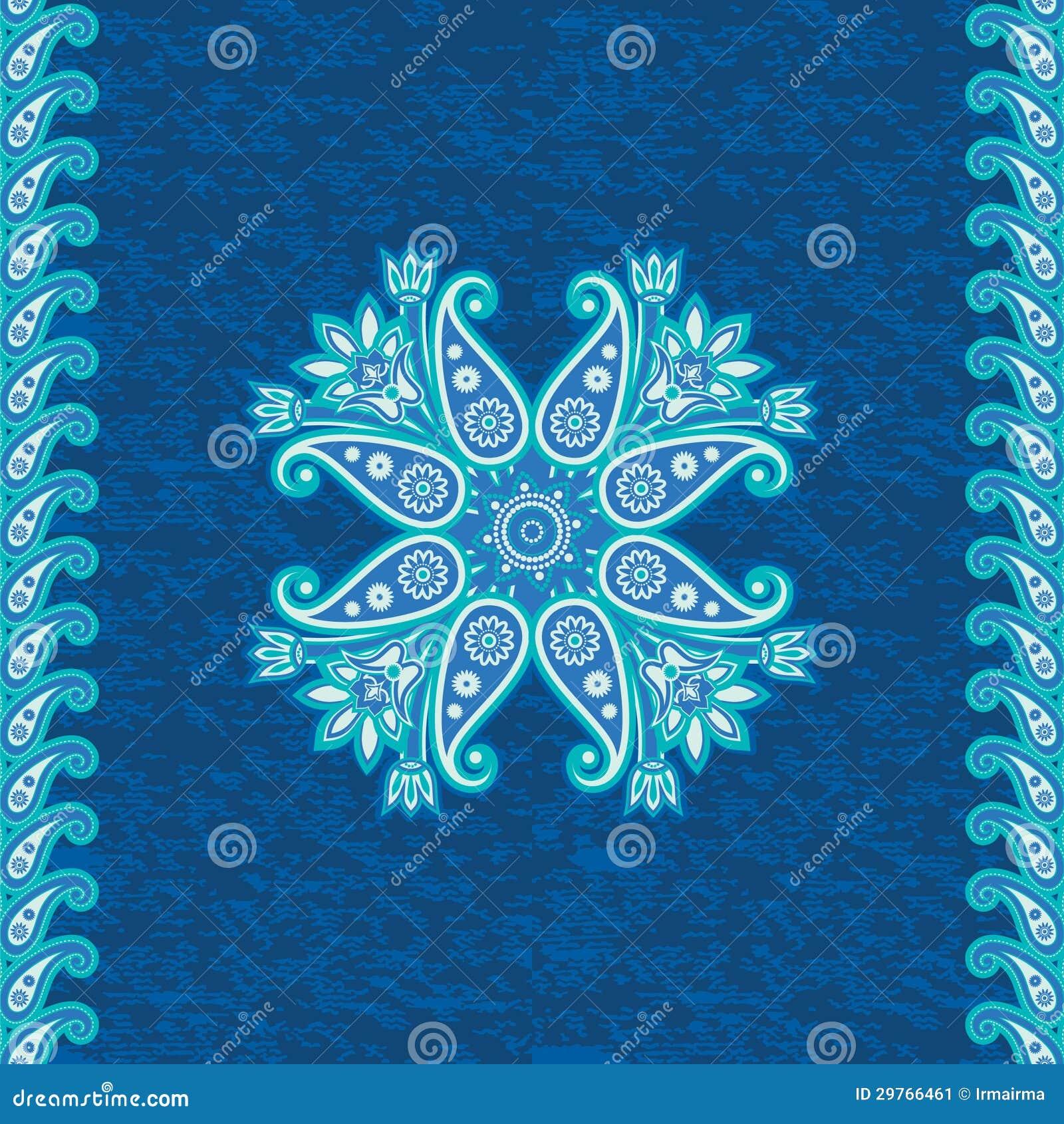 Ornamento étnico decorativo
