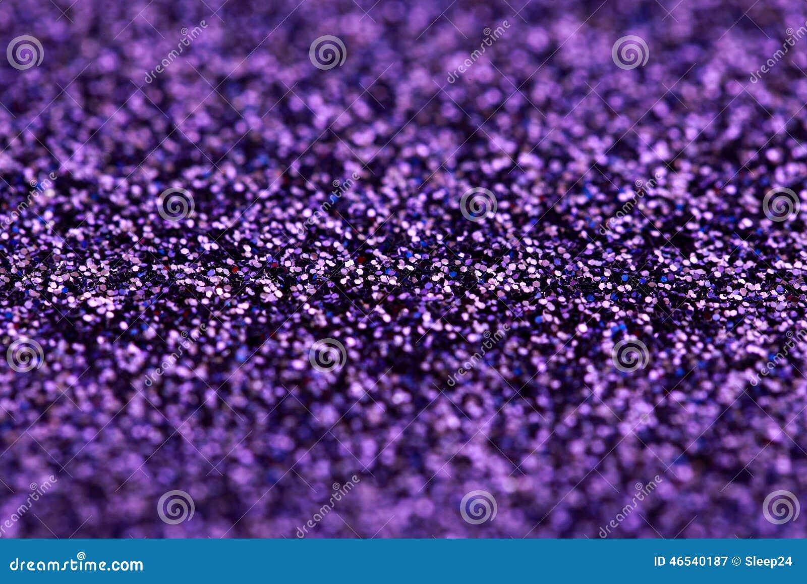 Fondo púrpura del brillo de la chispa Textura del extracto del día de fiesta, de la Navidad, de las tarjetas del día de San Valen