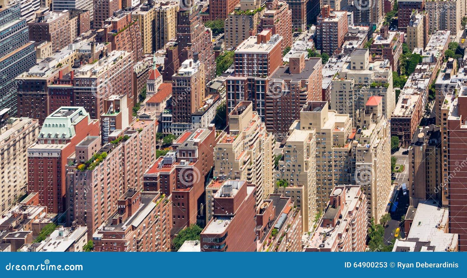 edificios fondo manhattan york