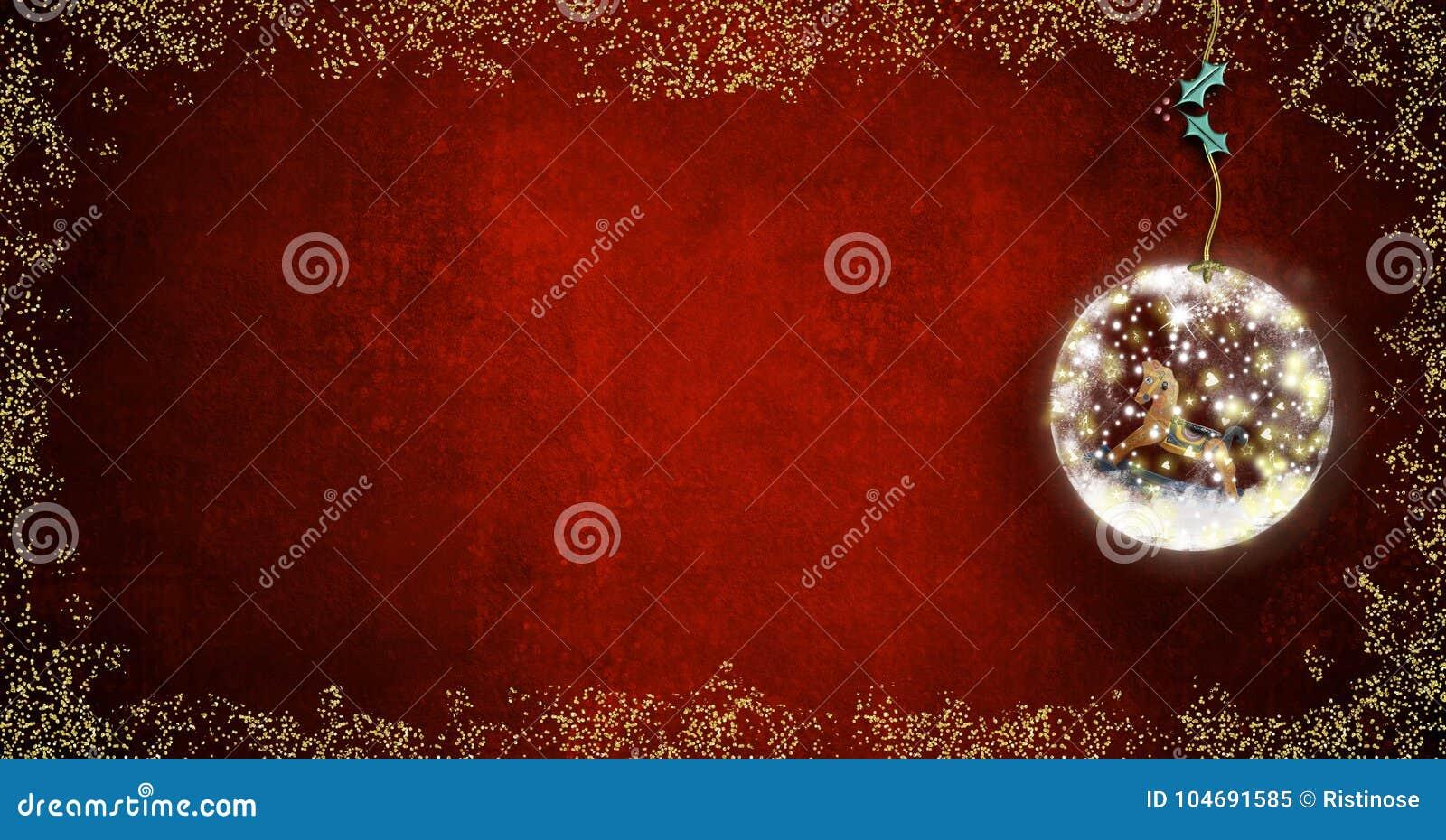 Fondo Para Escribir Tarjetas De Navidad Imagen De Archivo Imagen