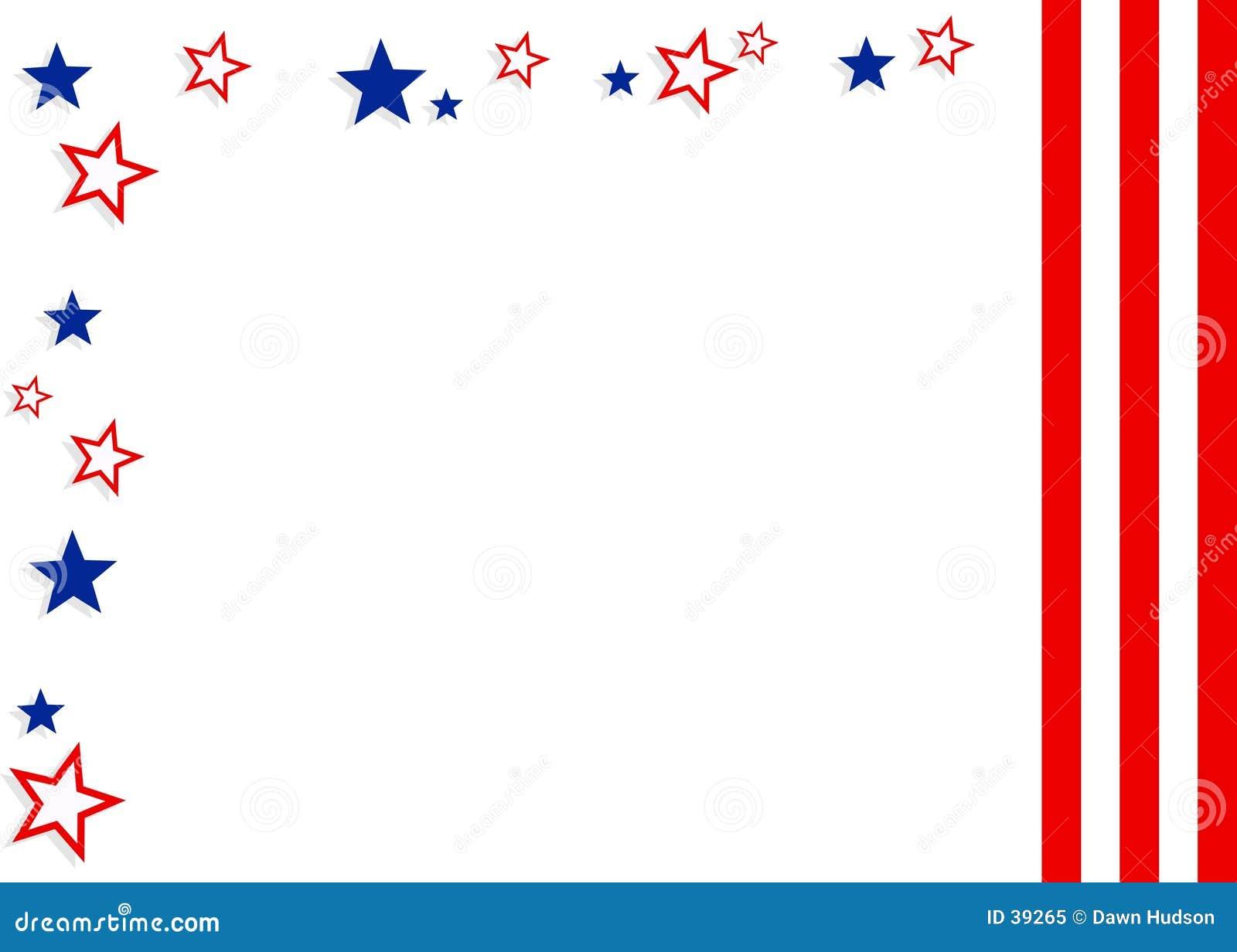 Download Fondo patriótico stock de ilustración. Ilustración de julio - 39265