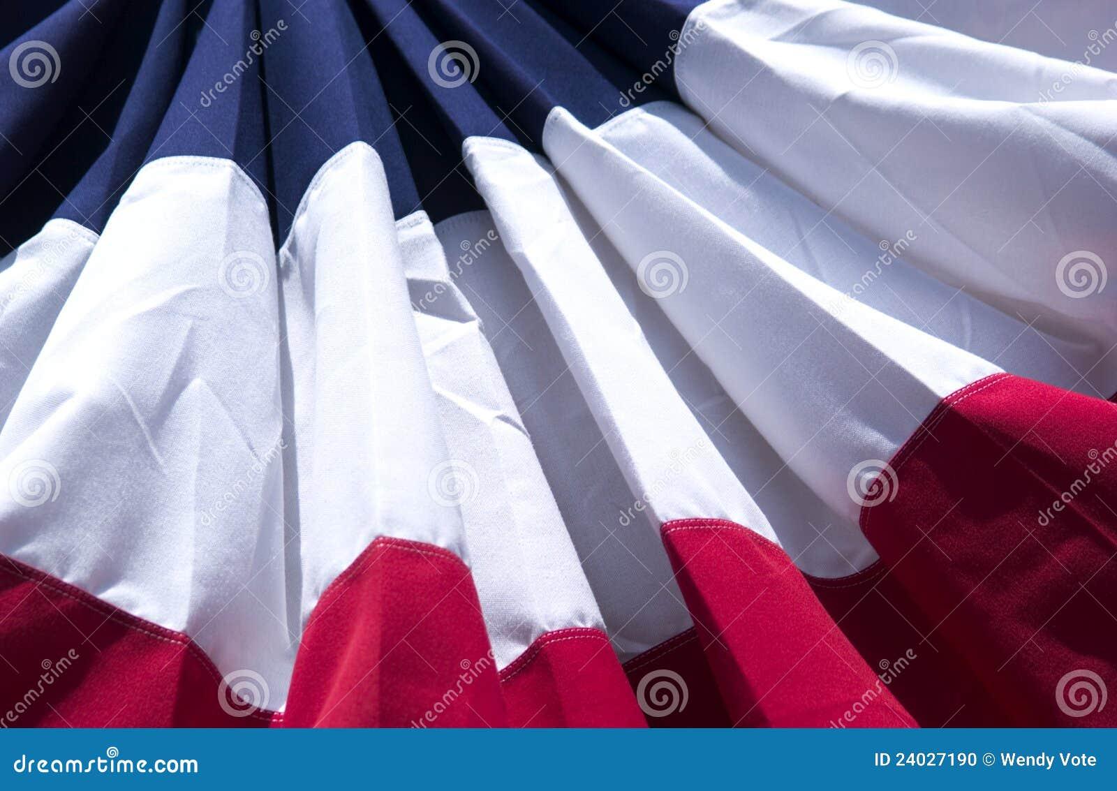 Fondo patriótico de la bandera