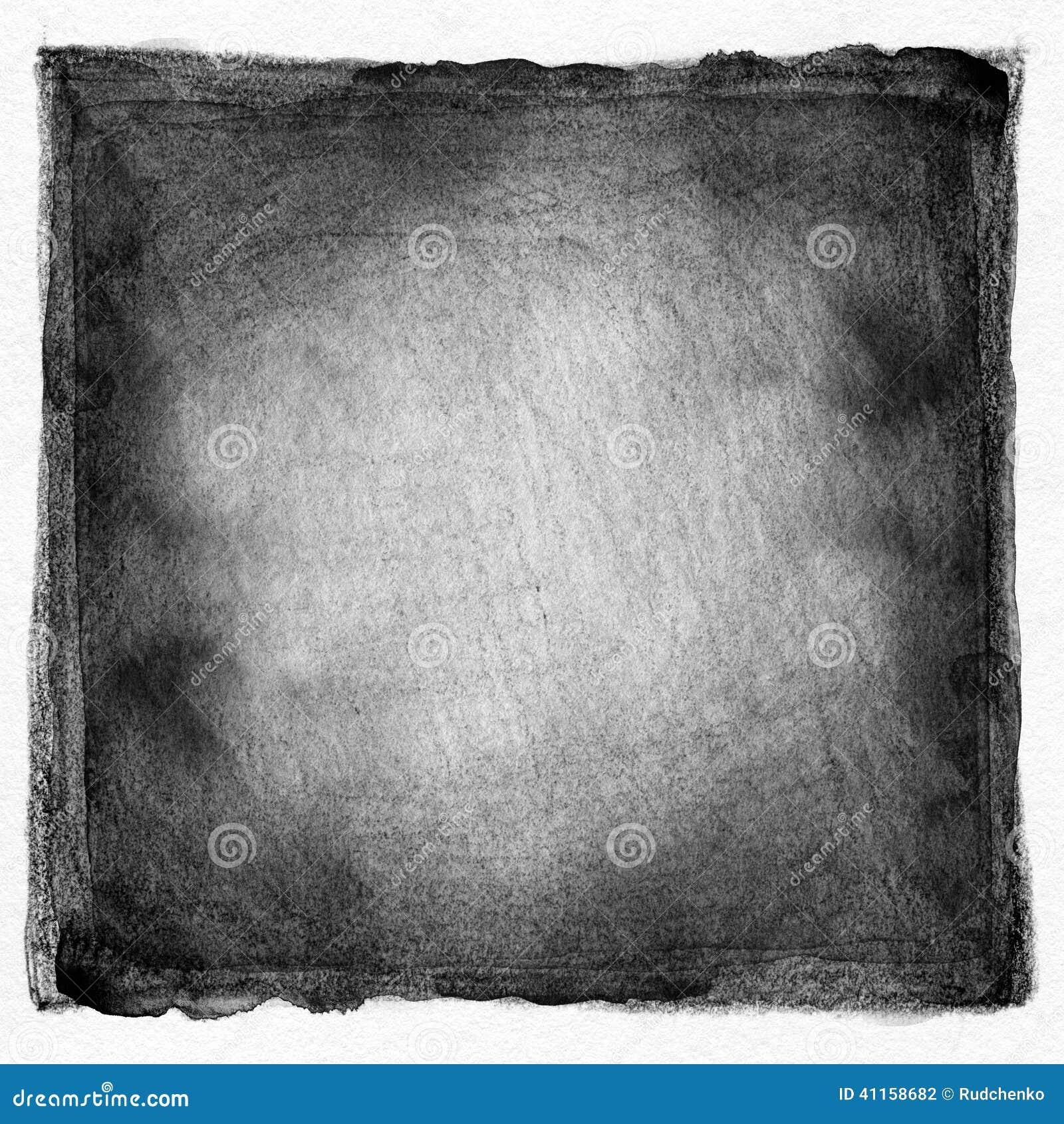 Fondo pintado acuarela blanco y negro abstracta foto de - Papel pintado blanco y negro ...
