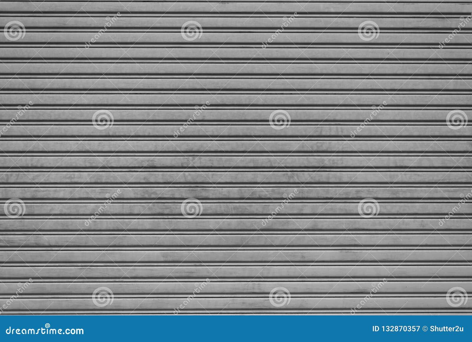 Fondo plegable de acero de la puerta del obturador del garaje Textura e Interi