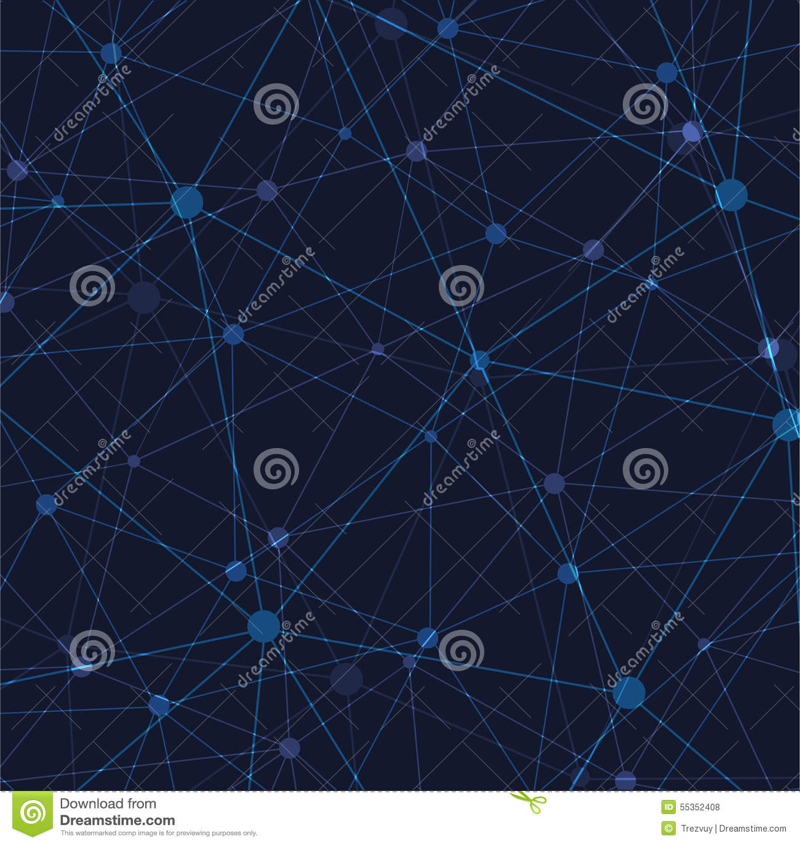 Fondo poligonale astratto moderno dello spazio di vettore