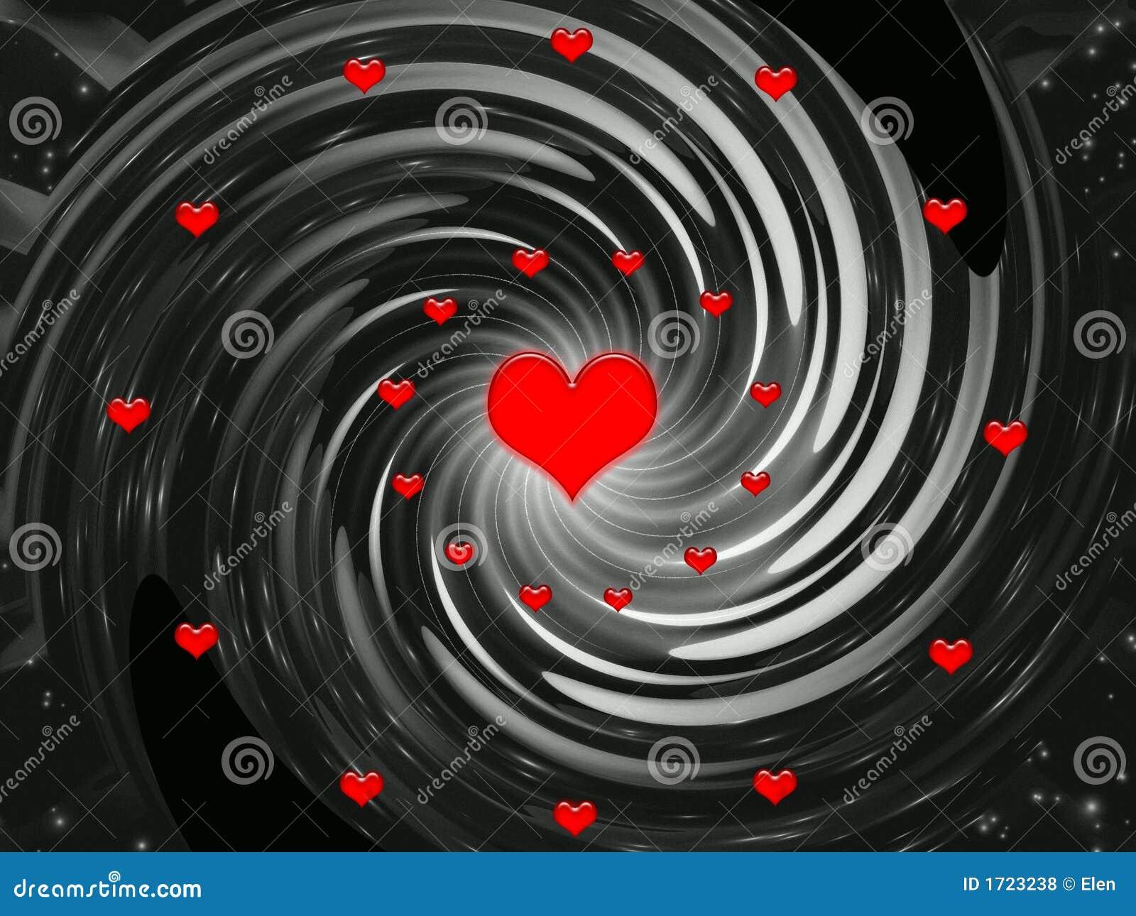 Fondo por días de fiesta - día de la abstracción de tarjetas del día de San Valentín