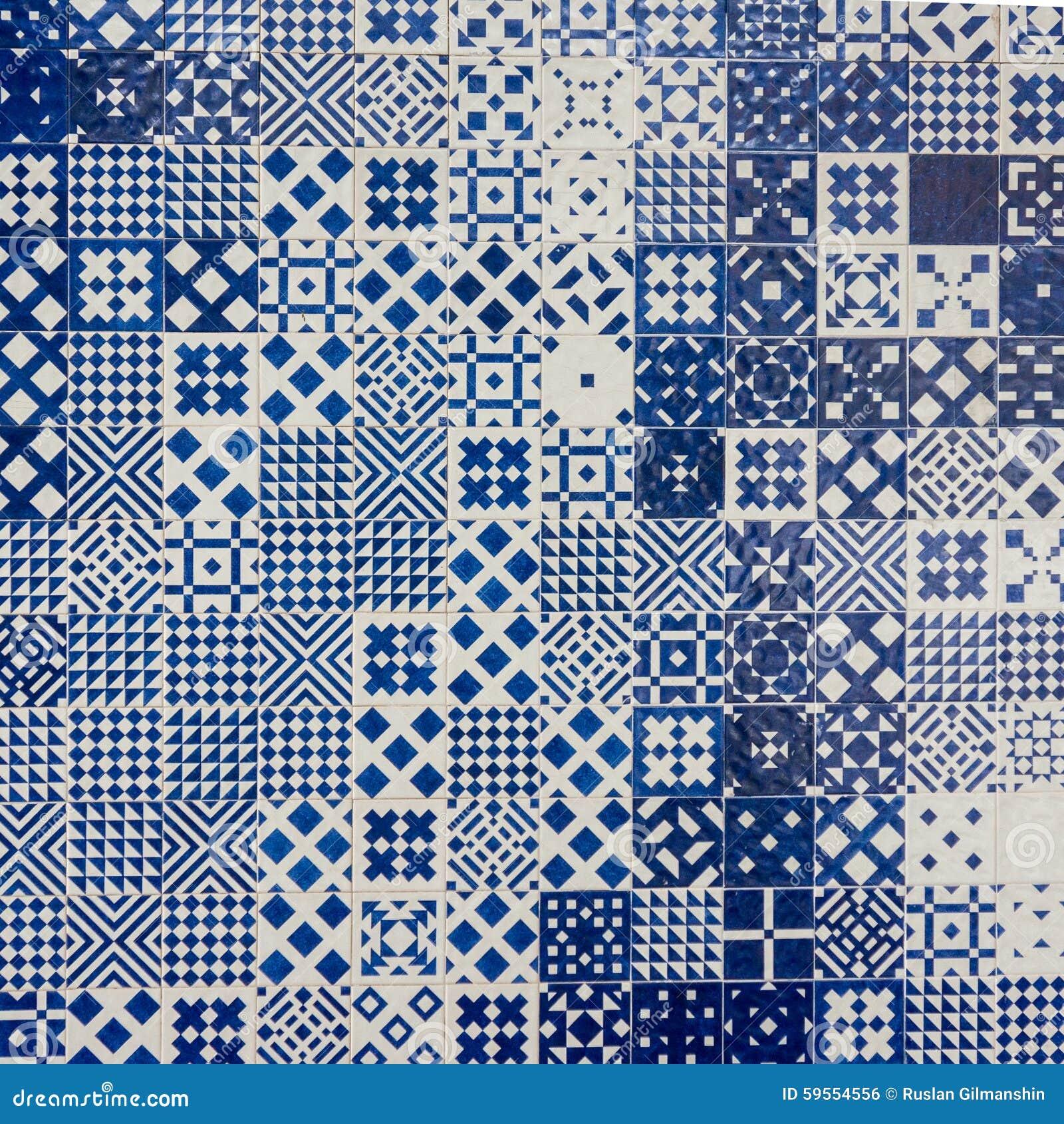 Fondo portoghese delle piastrelle di ceramica di azulejo fotografia stock immagine 59554556 - Dielle piastrelle ...