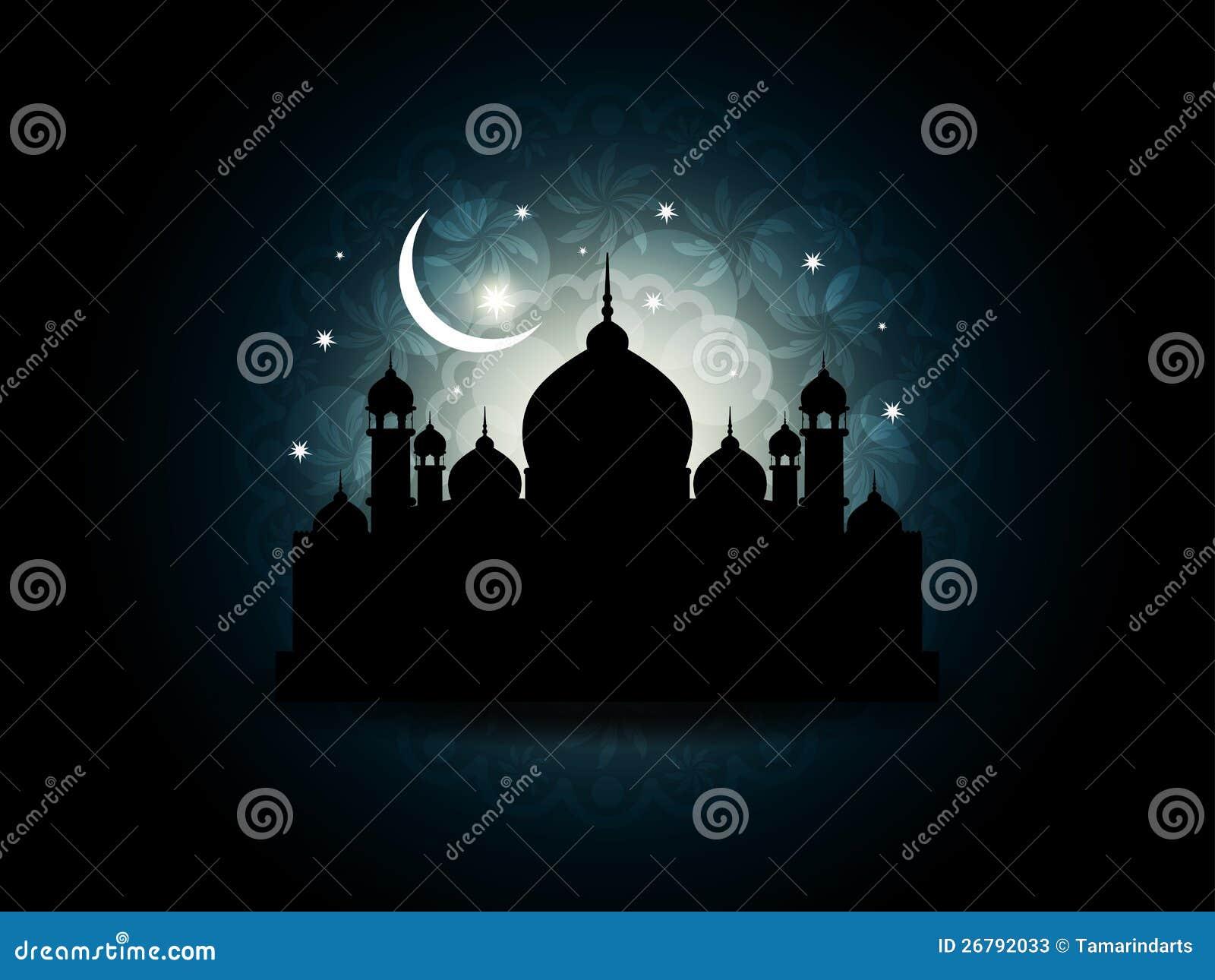 Fondo religioso hermoso abstracto del eid
