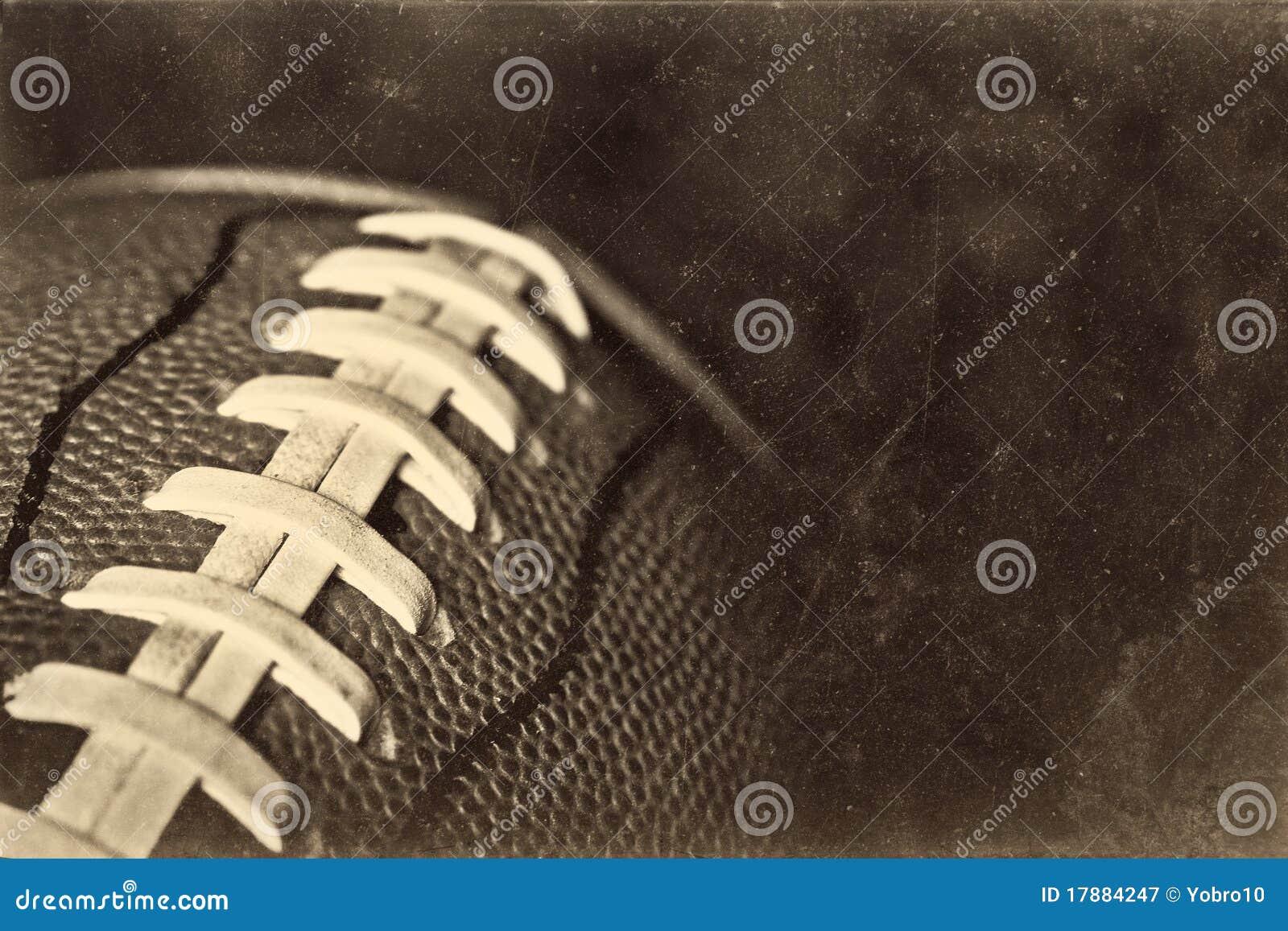 Fondo retro del fútbol americano de Grunge