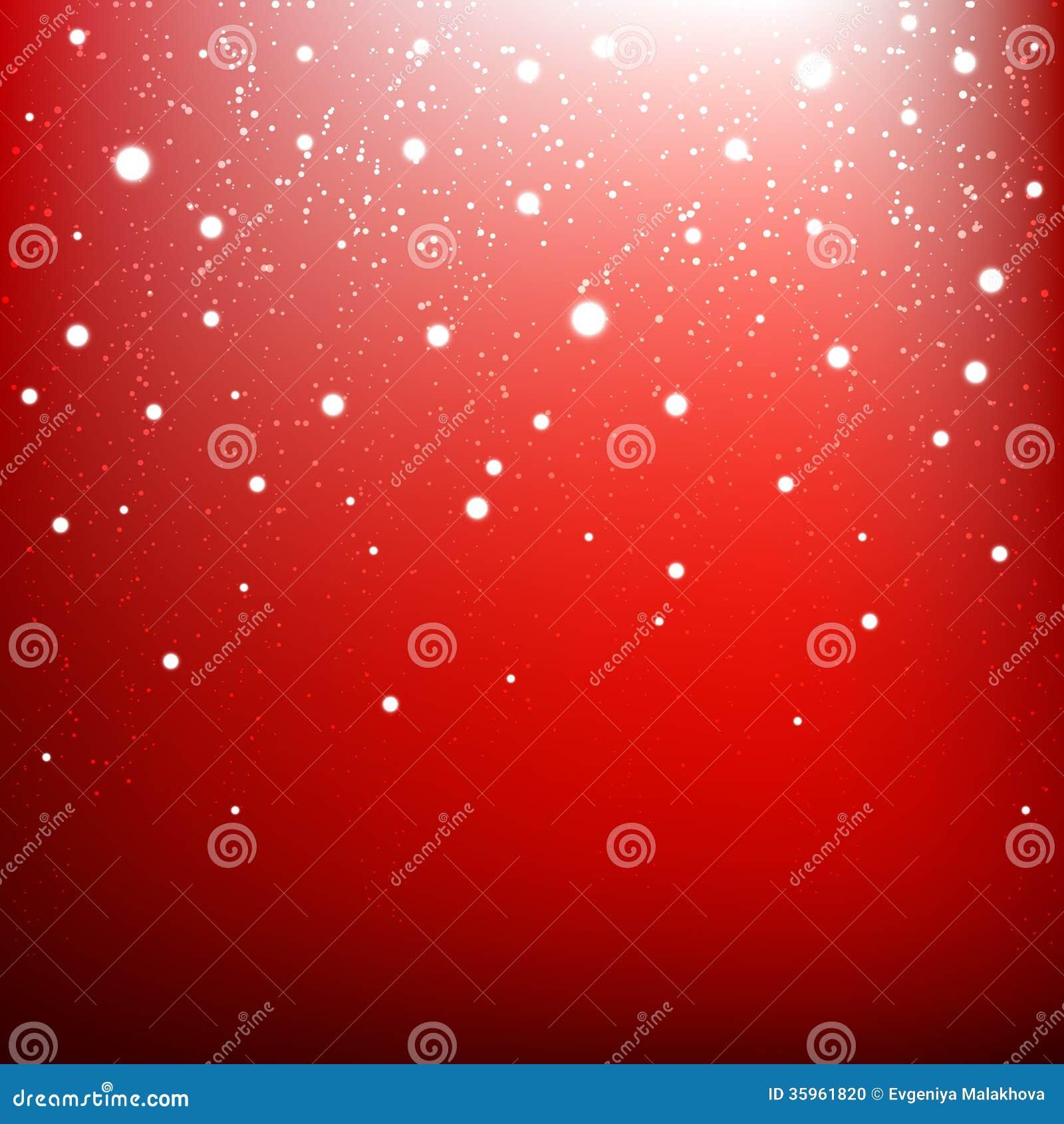 Fondo rojo de la Navidad