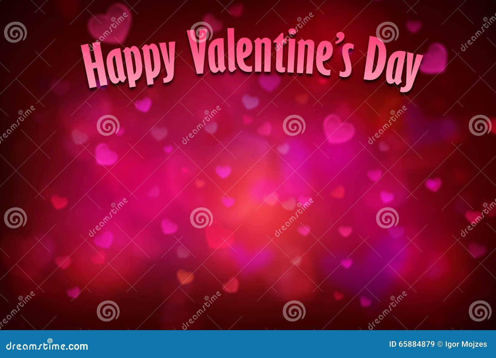 Fondo rojo del corazón para el día de tarjetas del día de San Valentín