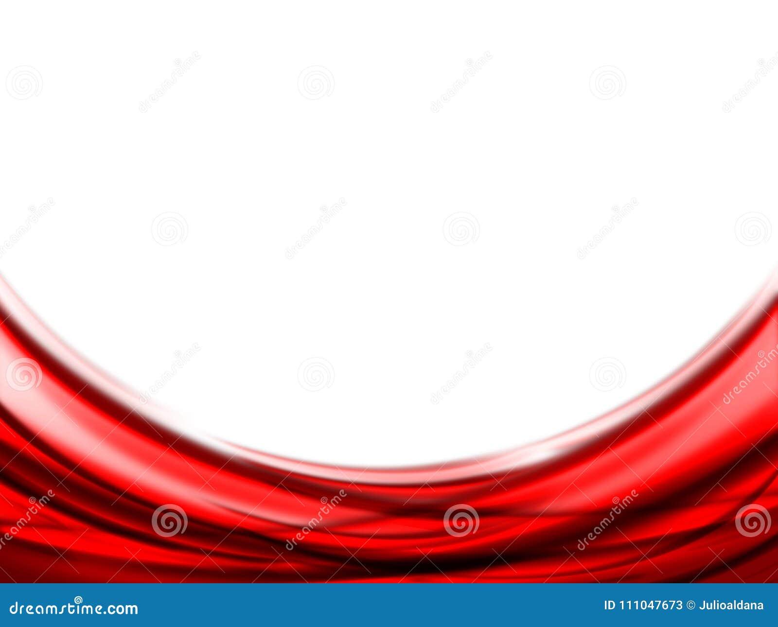 Fondo Rojo Y Blanco Abstracto Stock De Ilustración