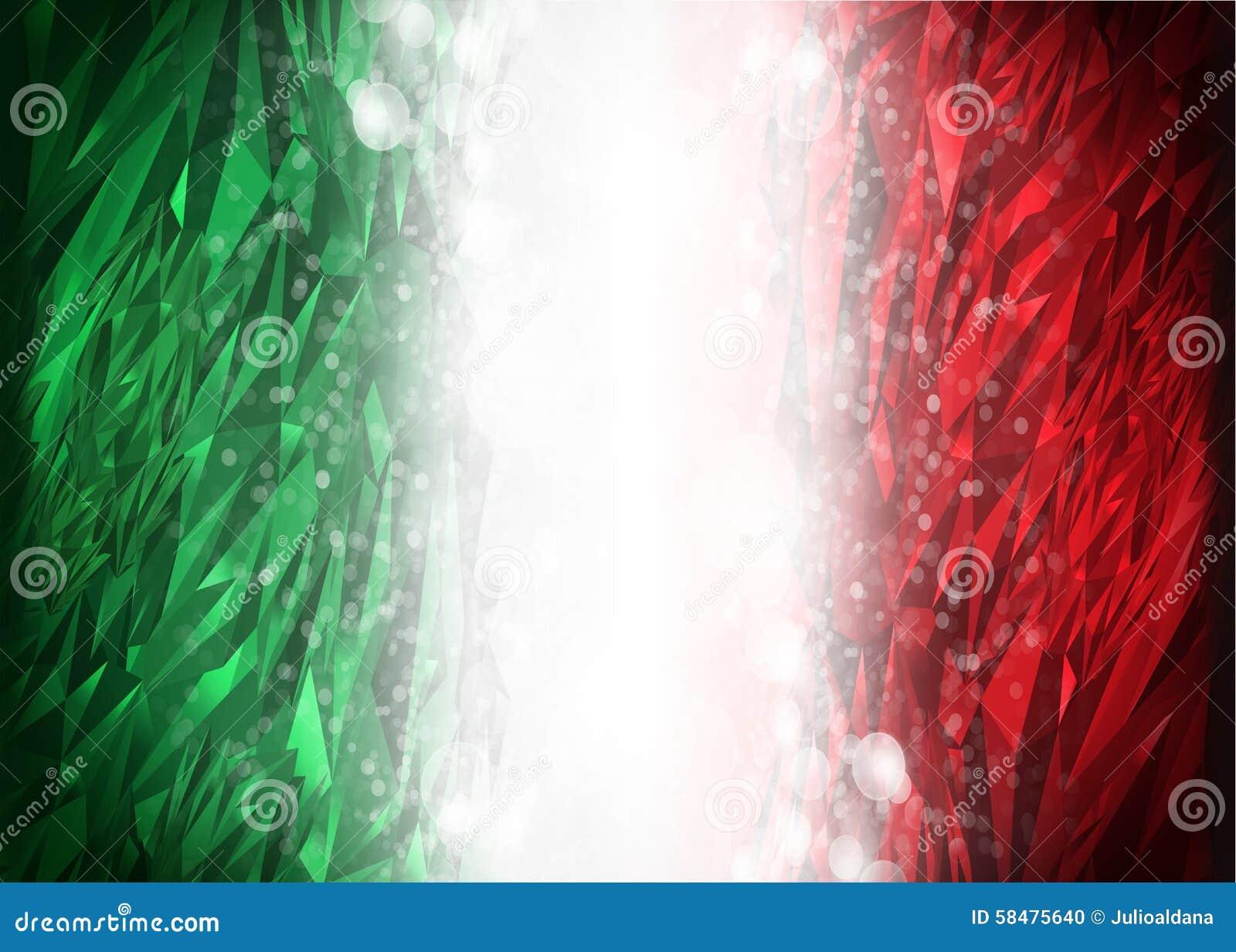 Fondo Rojo Y Verde Listo Para Su Texto Foto De Archivo