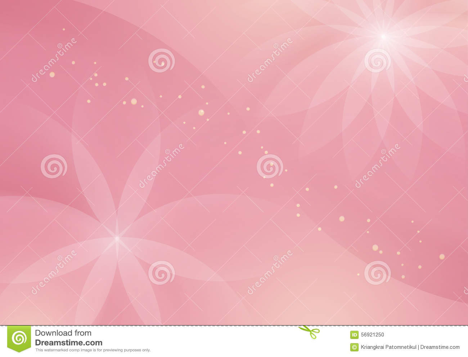 Fondo rosa-chiaro floreale astratto per progettazione