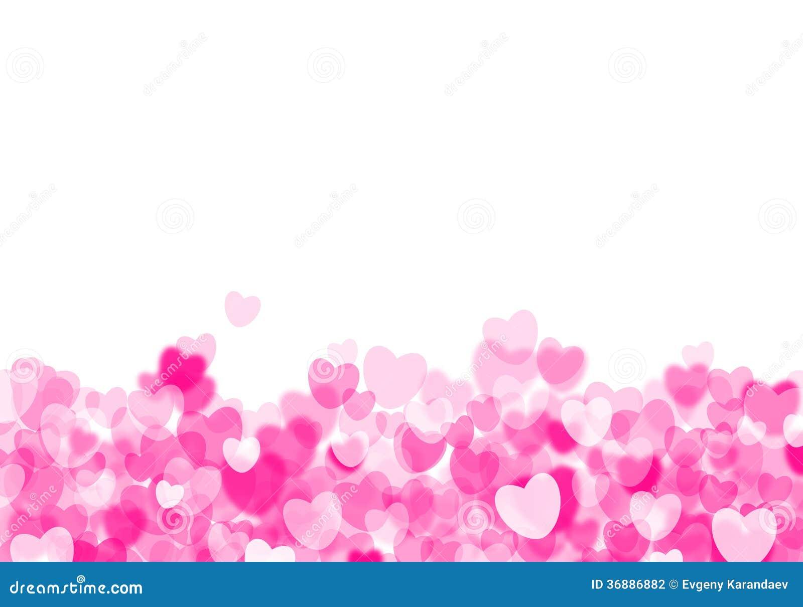 Download Fondo Rosa Dei Cuori Di San Valentino Illustrazione di Stock - Illustrazione di cuore, fascino: 36886882
