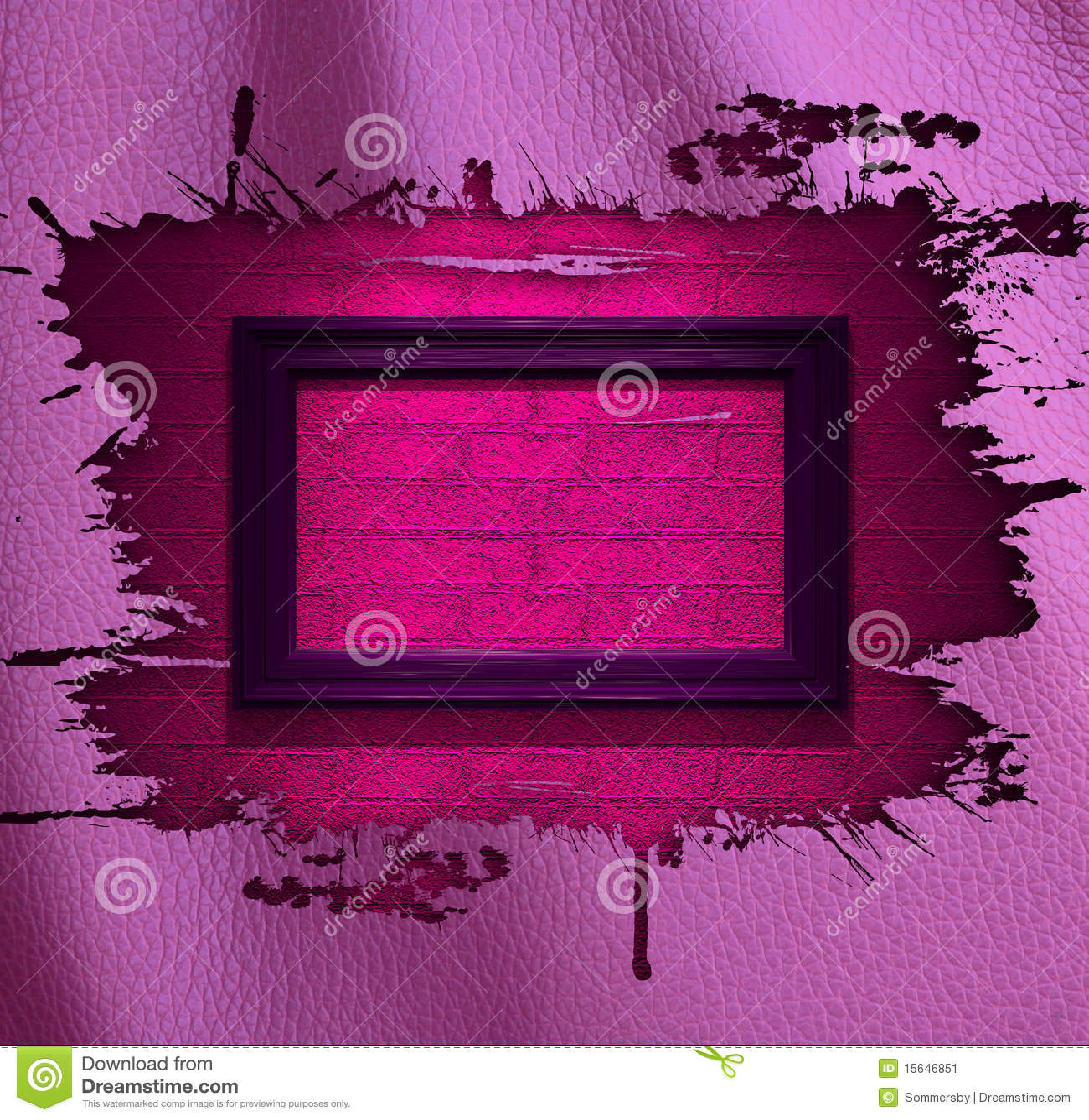 Fondo rosado del cuero del encanto