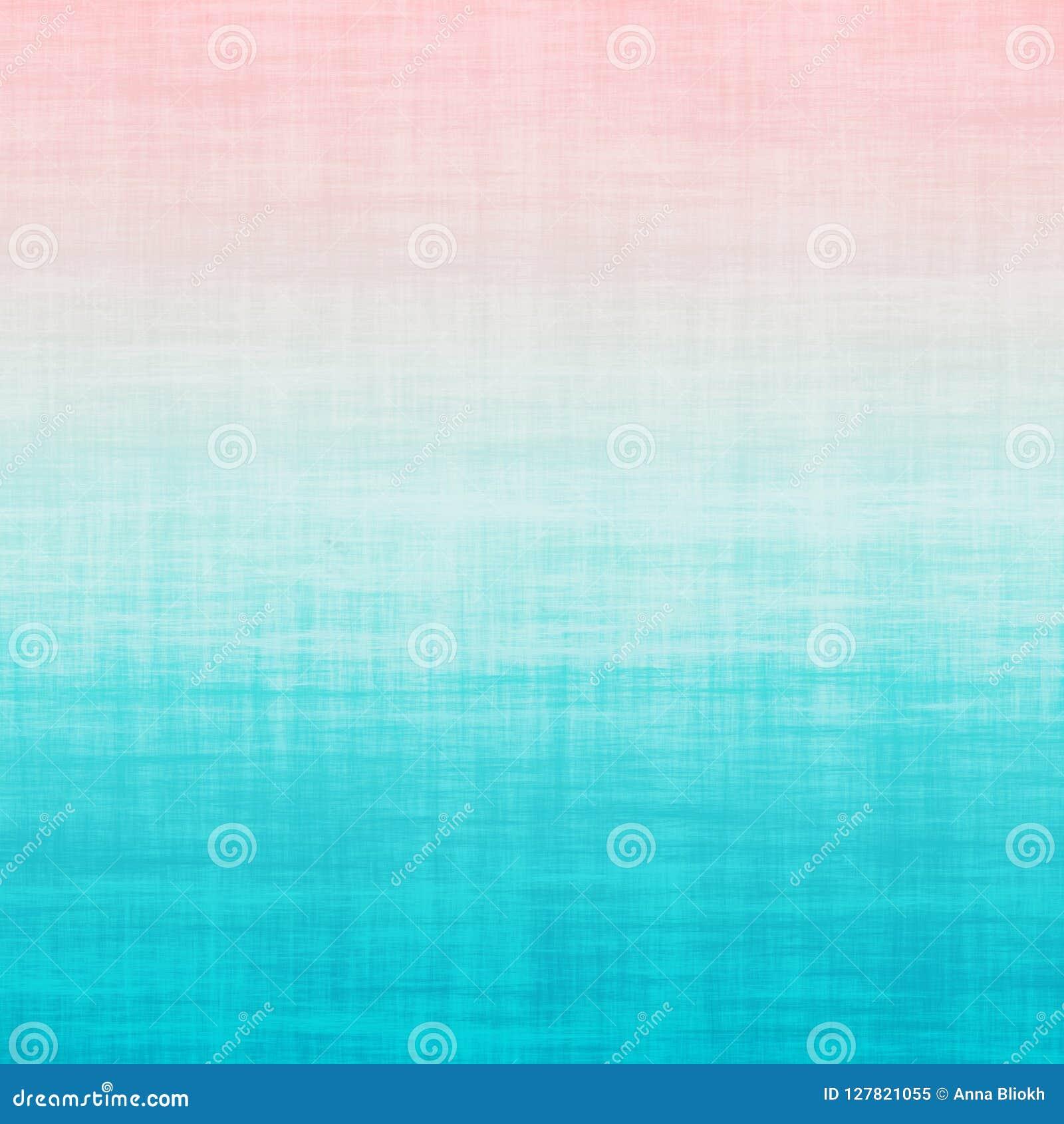 Fondo rosado milenario del pastel de la pendiente de Aqua Blue Teal Ombre Grunge