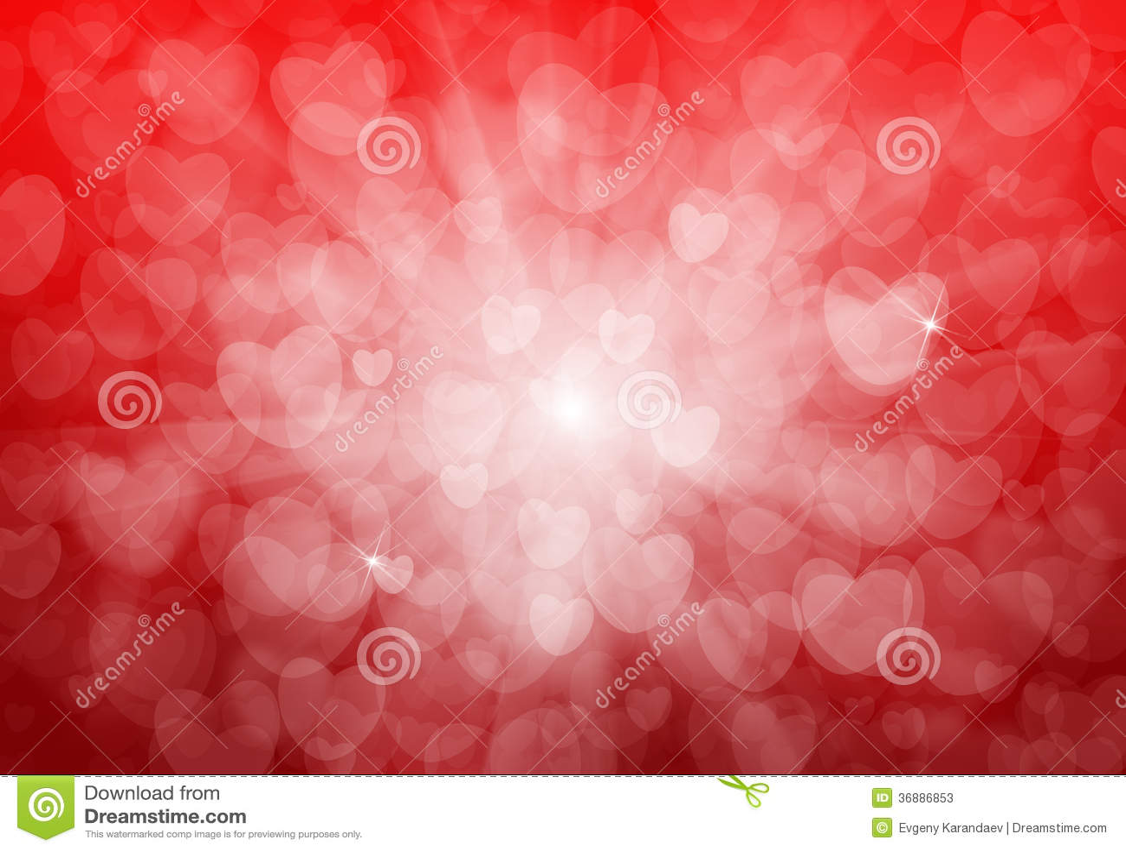 Download Fondo Rosso Dei Cuori Di San Valentino Illustrazione di Stock - Illustrazione di cuore, modello: 36886853