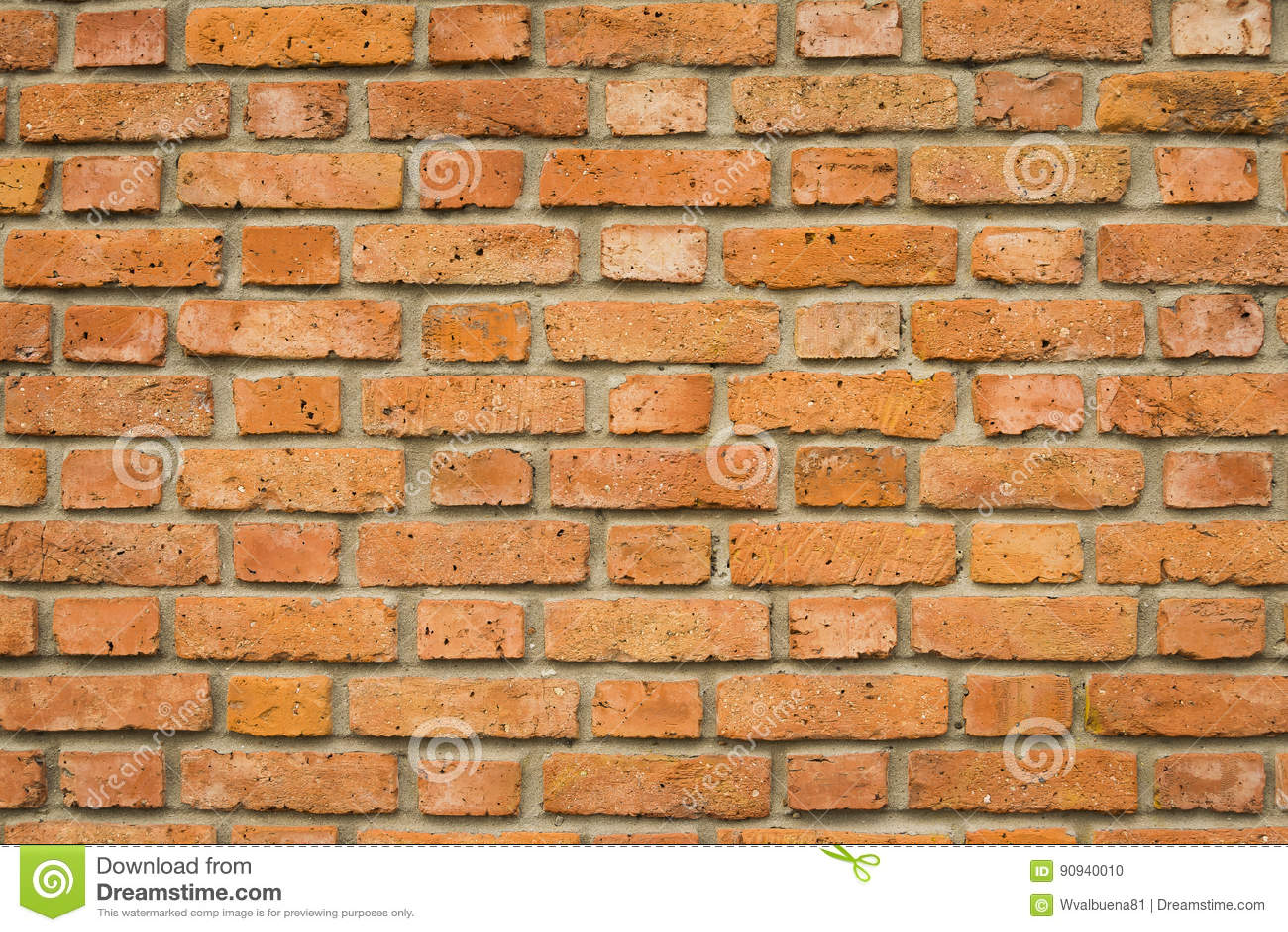 Fondo rustico del muro di mattoni