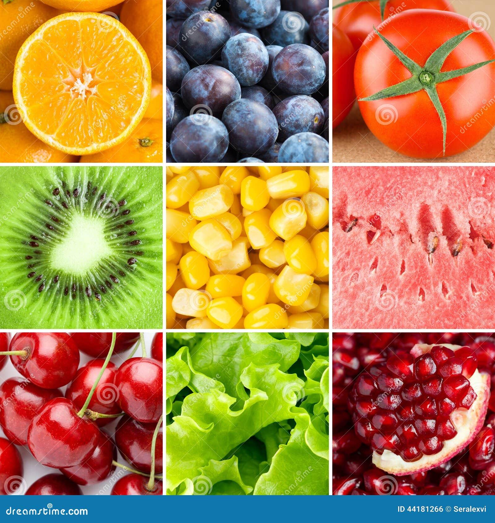 Fondo sano de la comida fresca foto de archivo imagen for Comidas frescas
