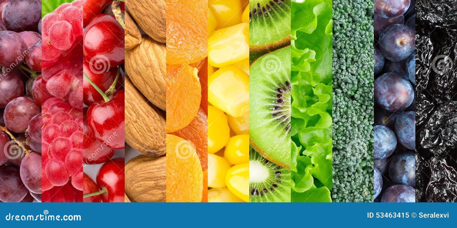 Fondo sano del alimento