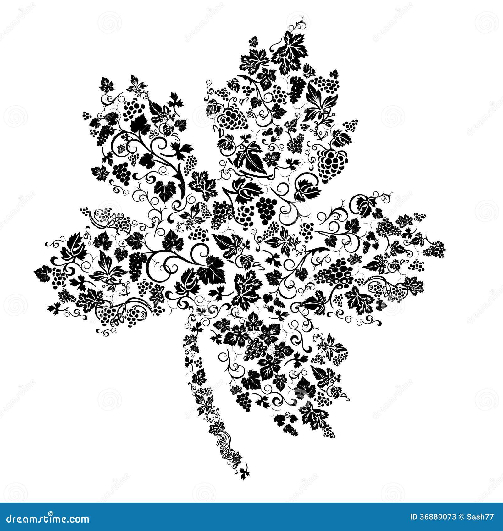 Download Fondo Senza Cuciture Dell'uva Creativa Illustrazione Vettoriale - Illustrazione di disegno, foglio: 36889073