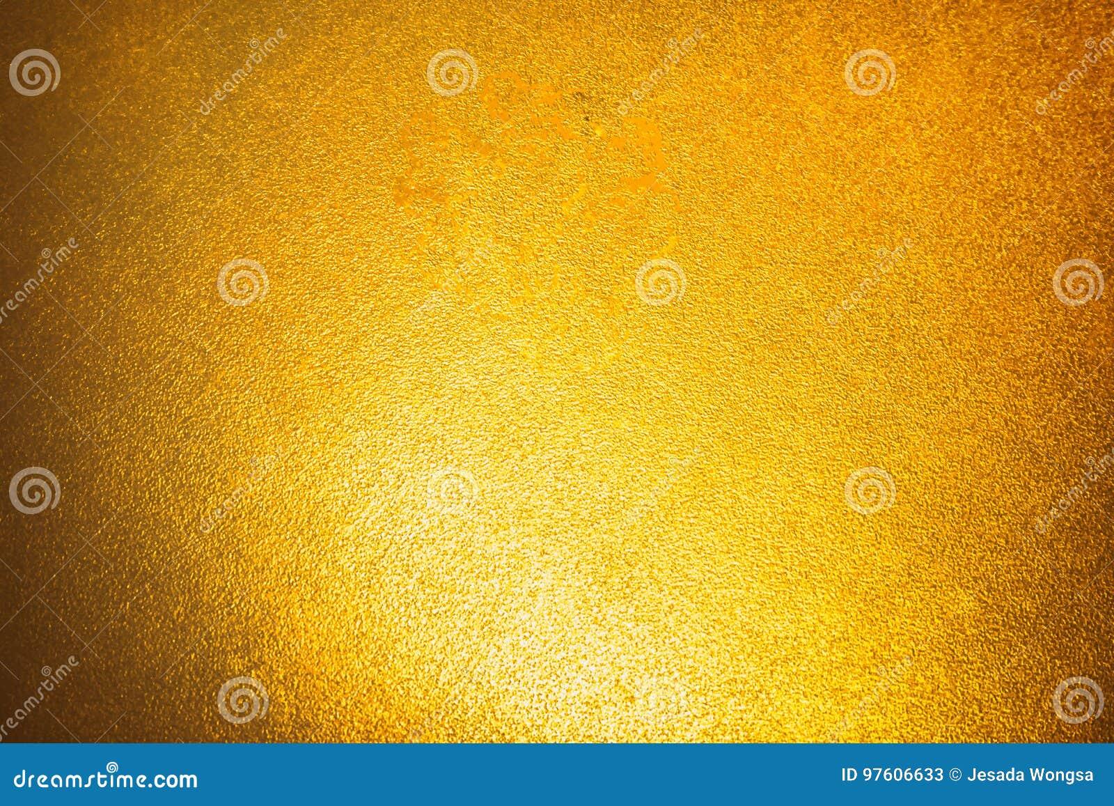 Fondo simple del extracto de la luz de la pendiente del oro para el diseño del contexto del producto o del texto