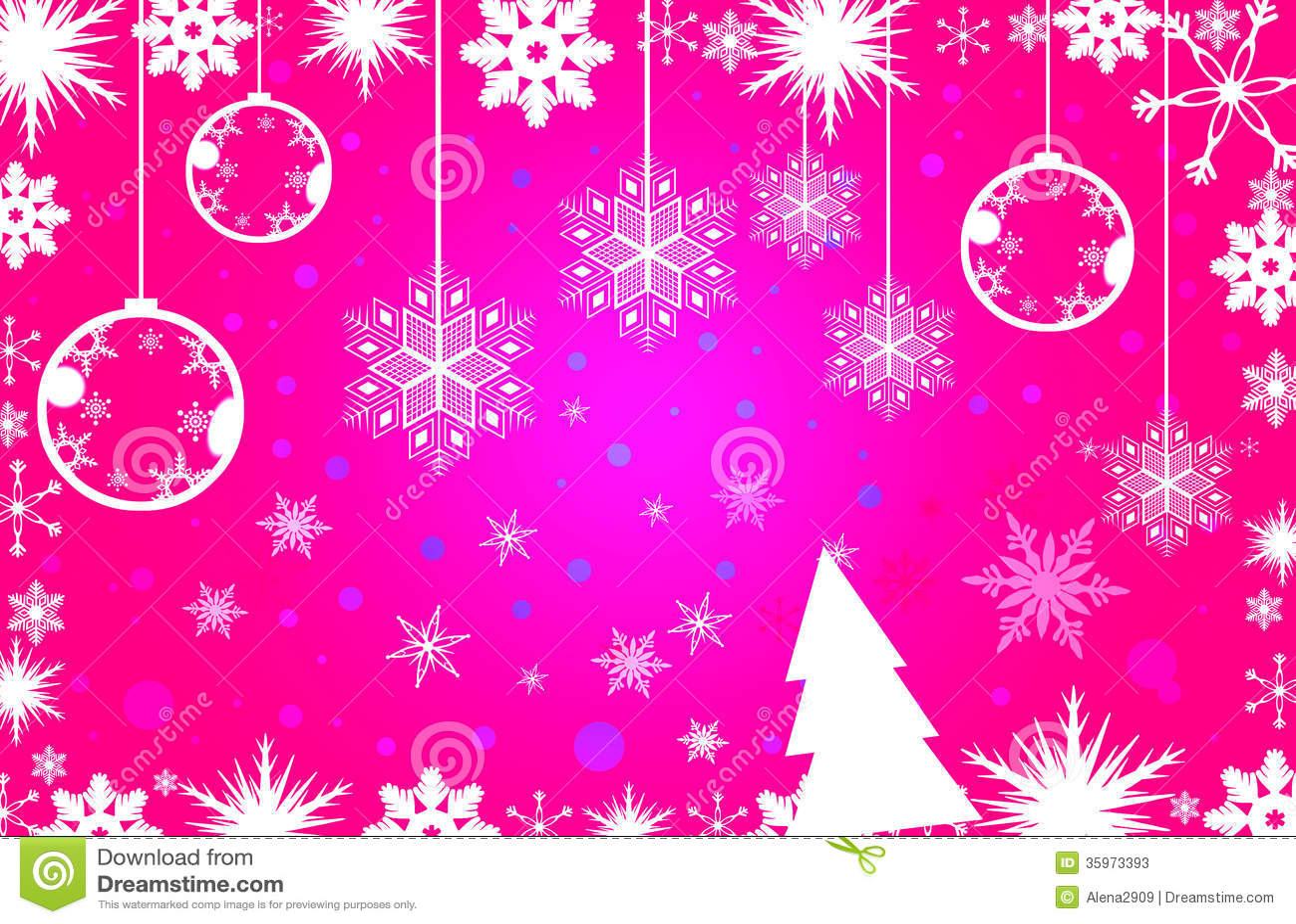 Fondo simple rosado de la Navidad
