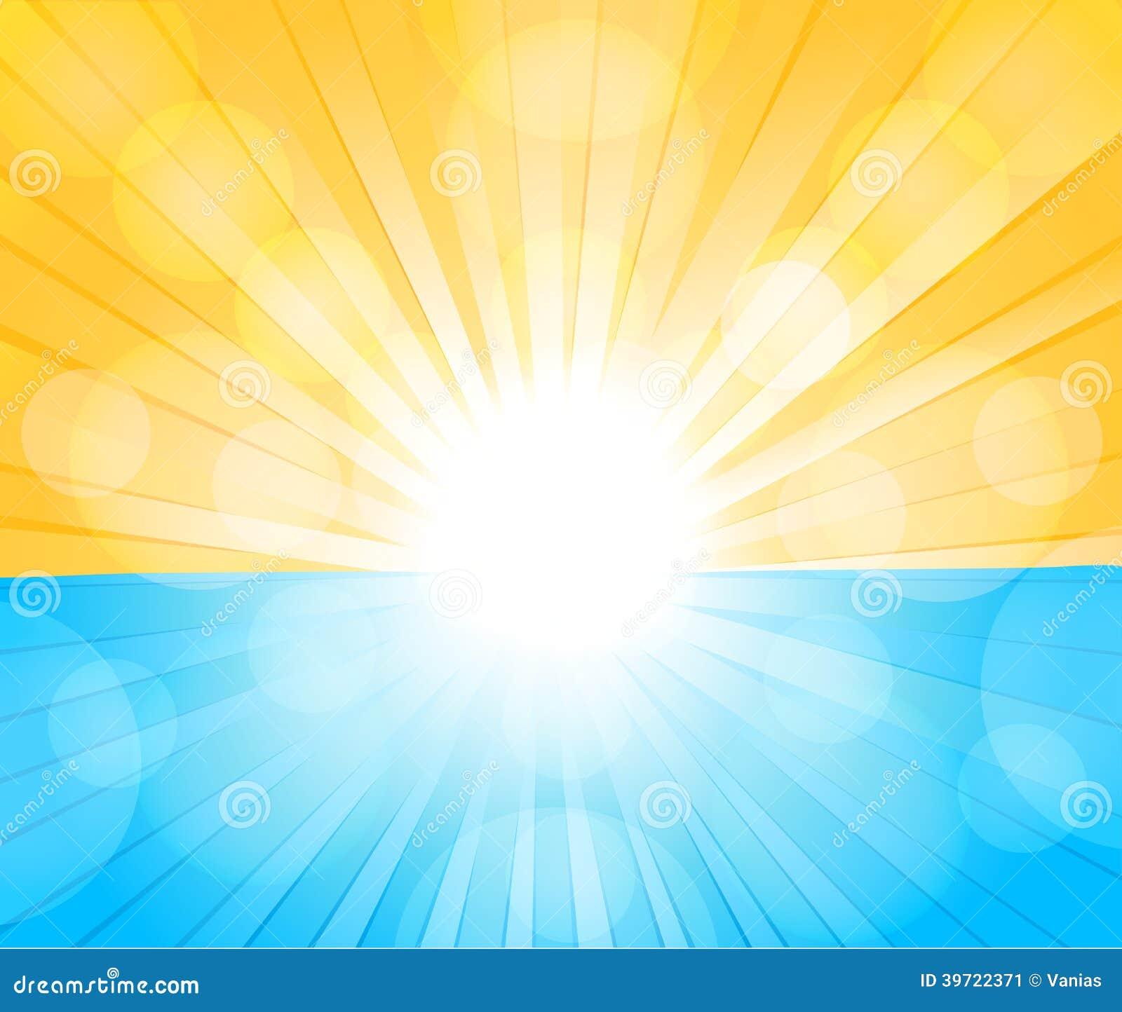 Fondo soleado