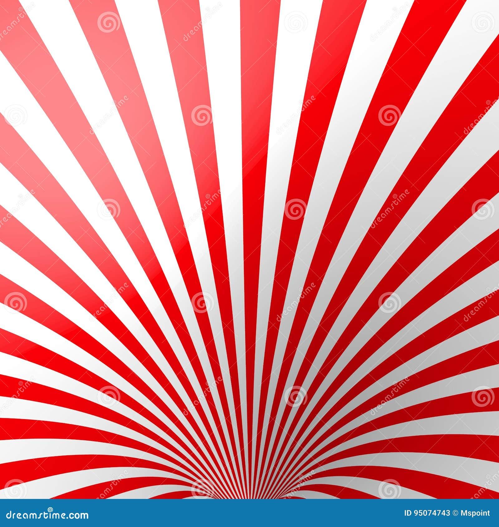 Carta Da Parati E Bordi.Fondo A Strisce Volumetrico Rosso Cono Carta Da Parati Rossa E
