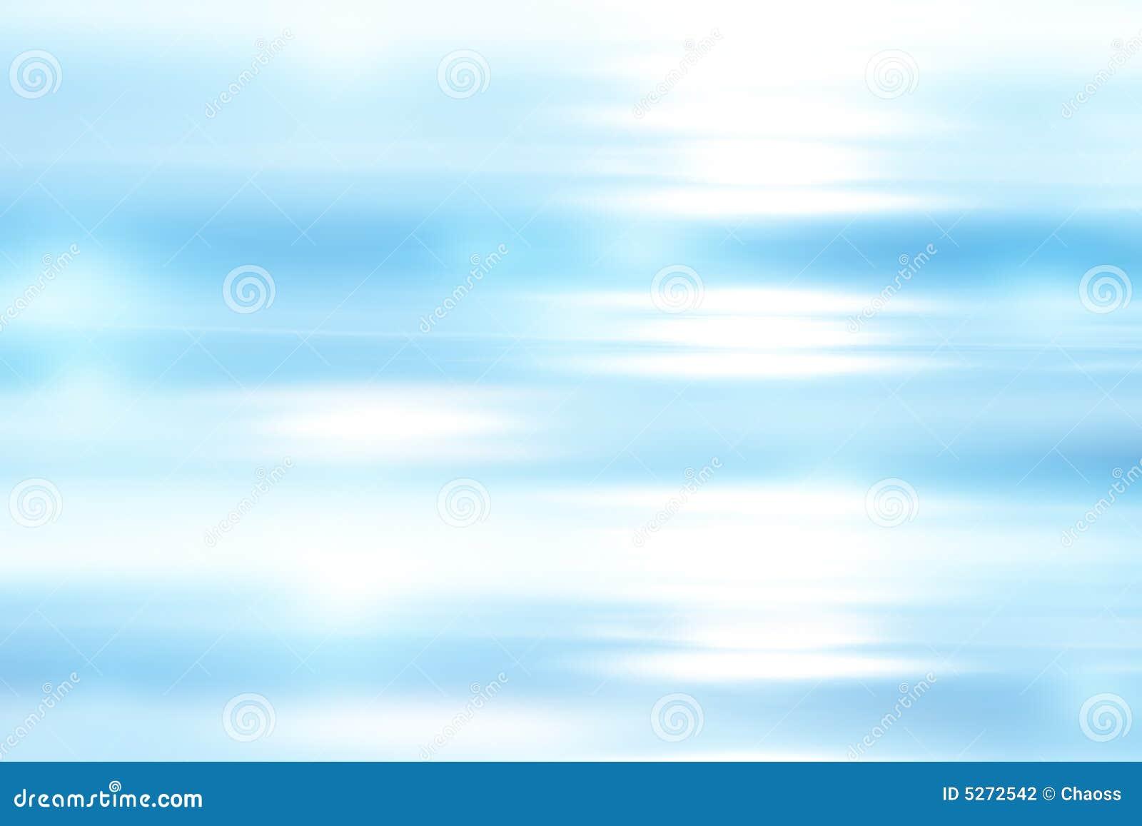 Fondo suave azul brillante abstracto
