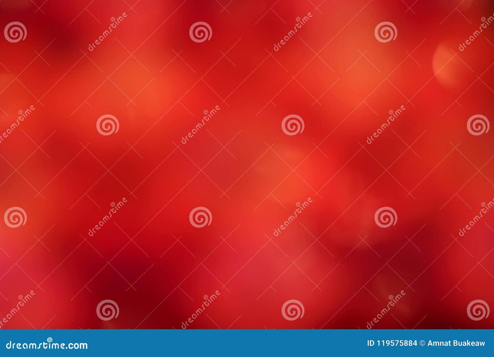 Fondo suave rojo, fondo suave borroso de la pendiente roja, fondo suave colorido del extracto del bokeh de la sombra de la luz ro