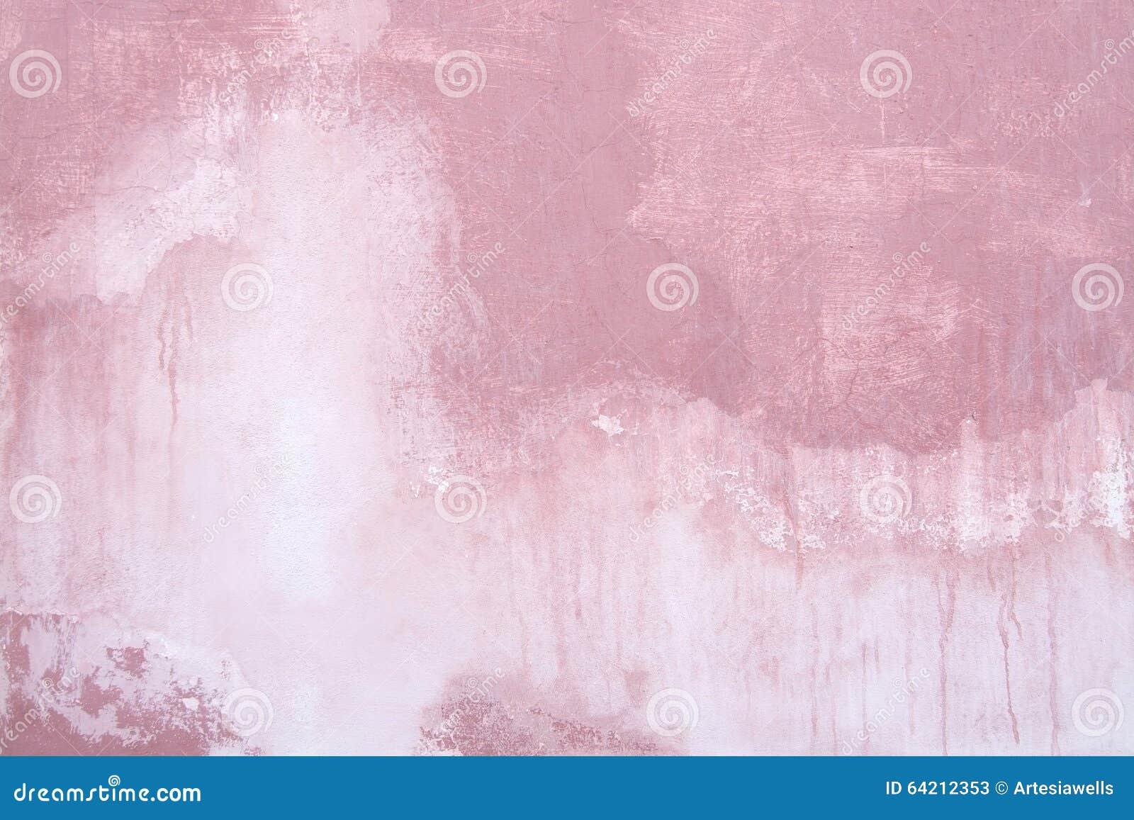 Fondo sucio concreto rosado del vintage