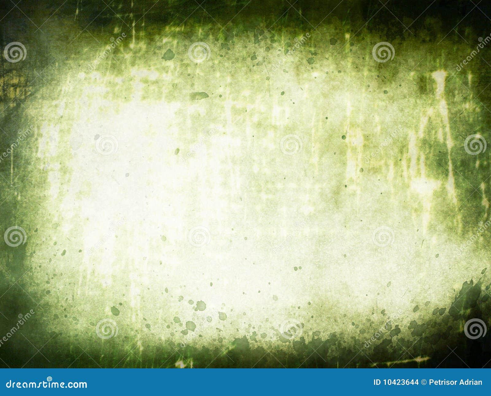 Fondo superficial textured verde de Grunge