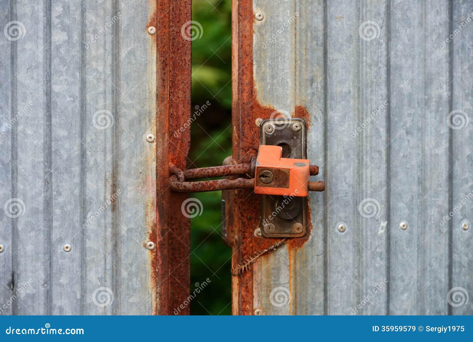 Fondo, textura, puerta vieja