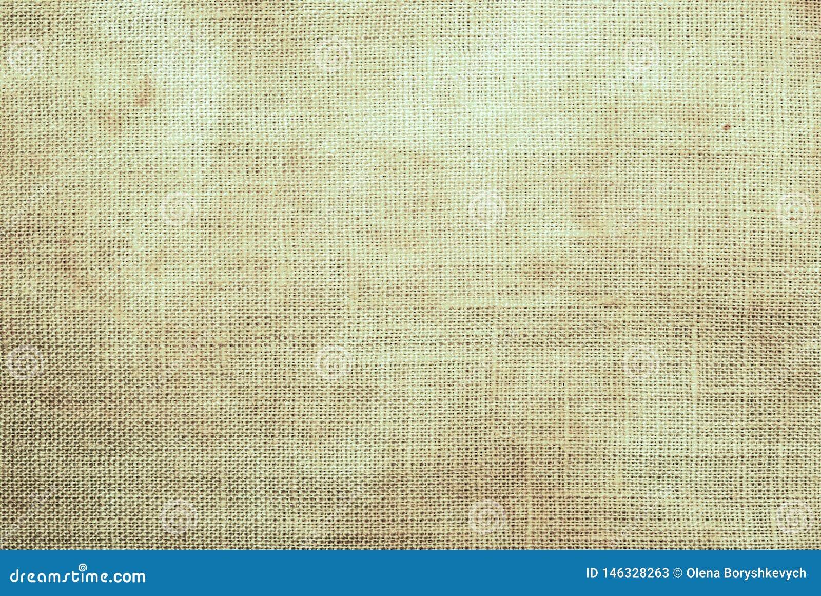 Fondo texturizado de la tela arrugada beige