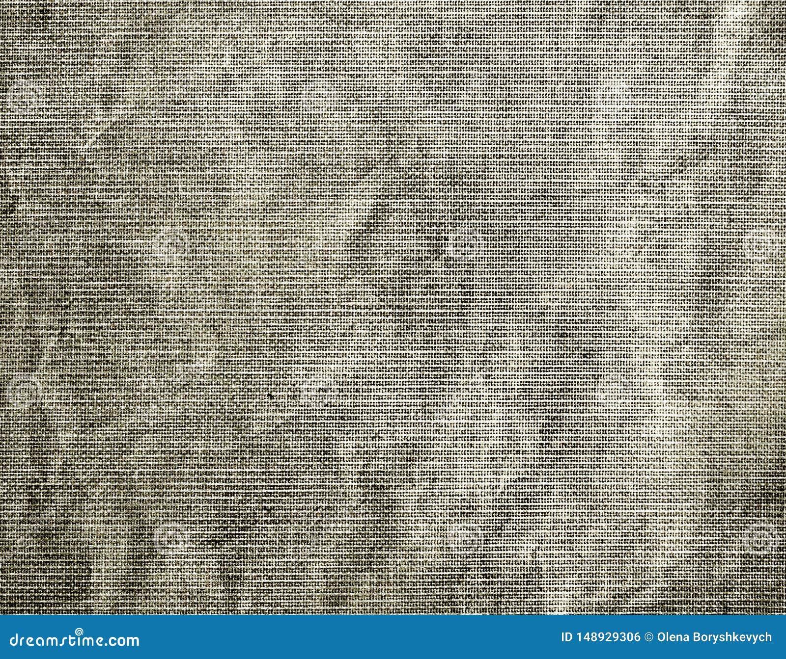Fondo texturizado de la tela arrugada gris