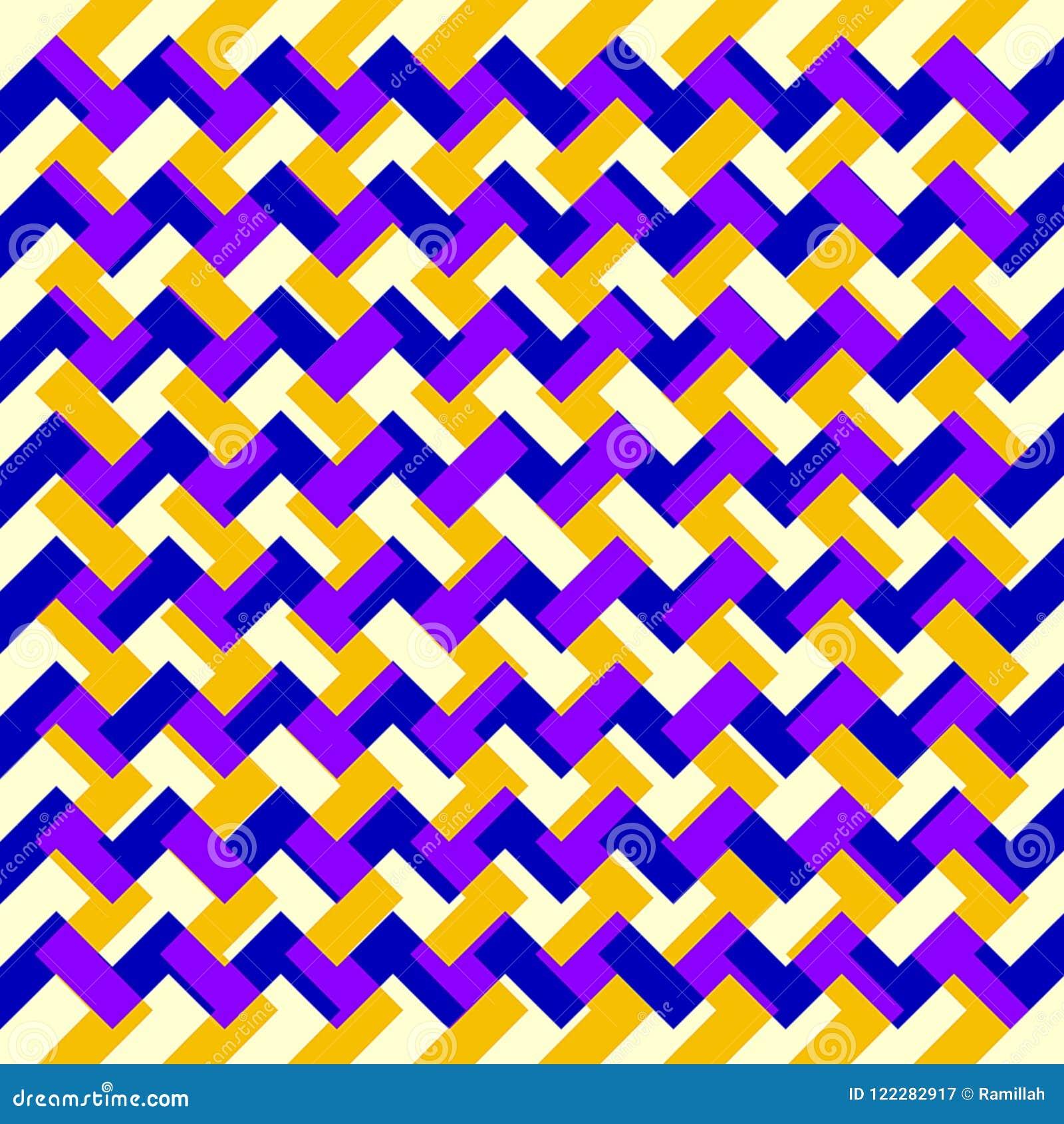 Fondo triangular ondulado colorido abstracto hermoso del modelo de la capa de la textura del zigzag de la pintura de Digitaces