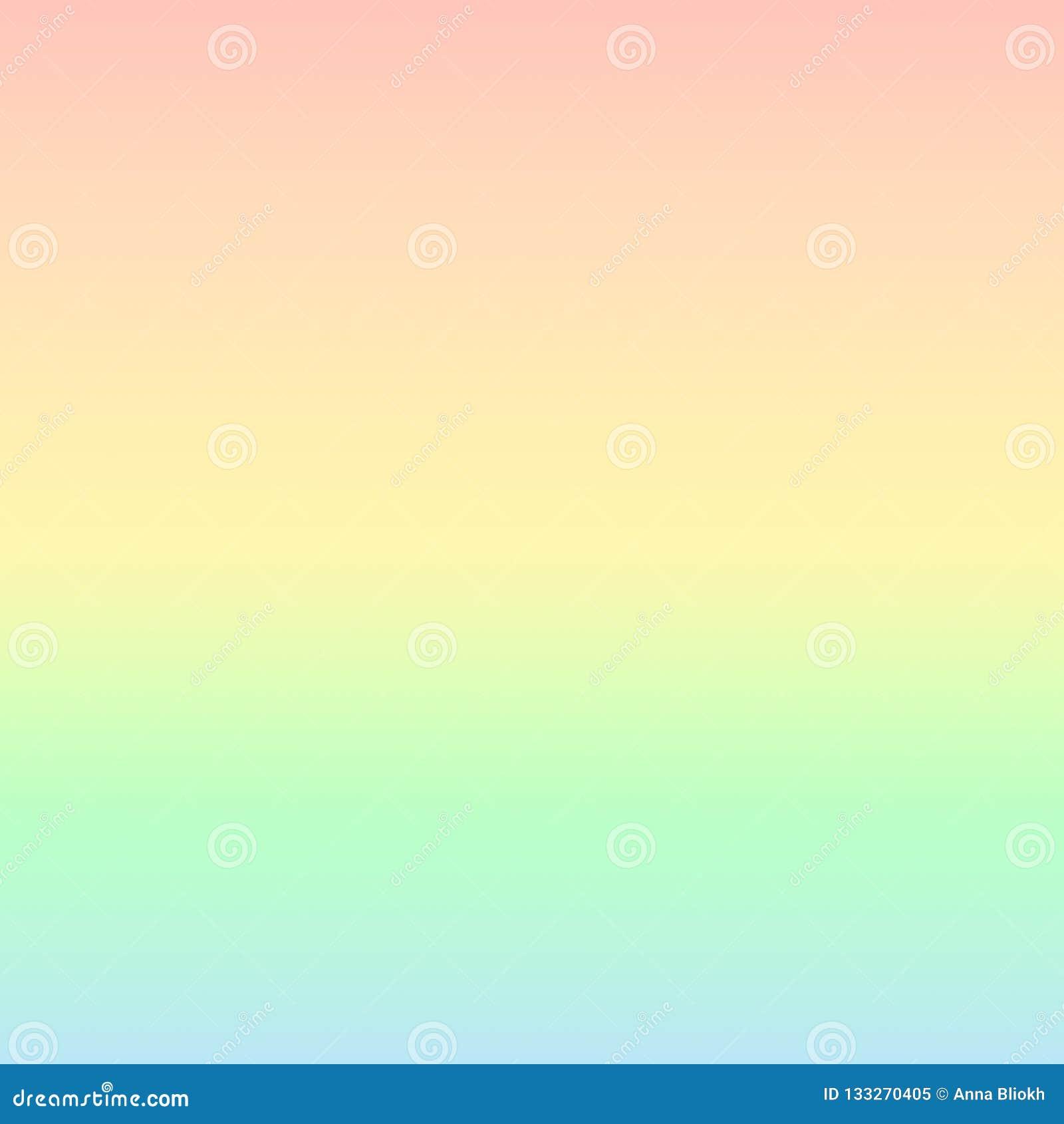 Fondo tropical del arco iris en colores pastel
