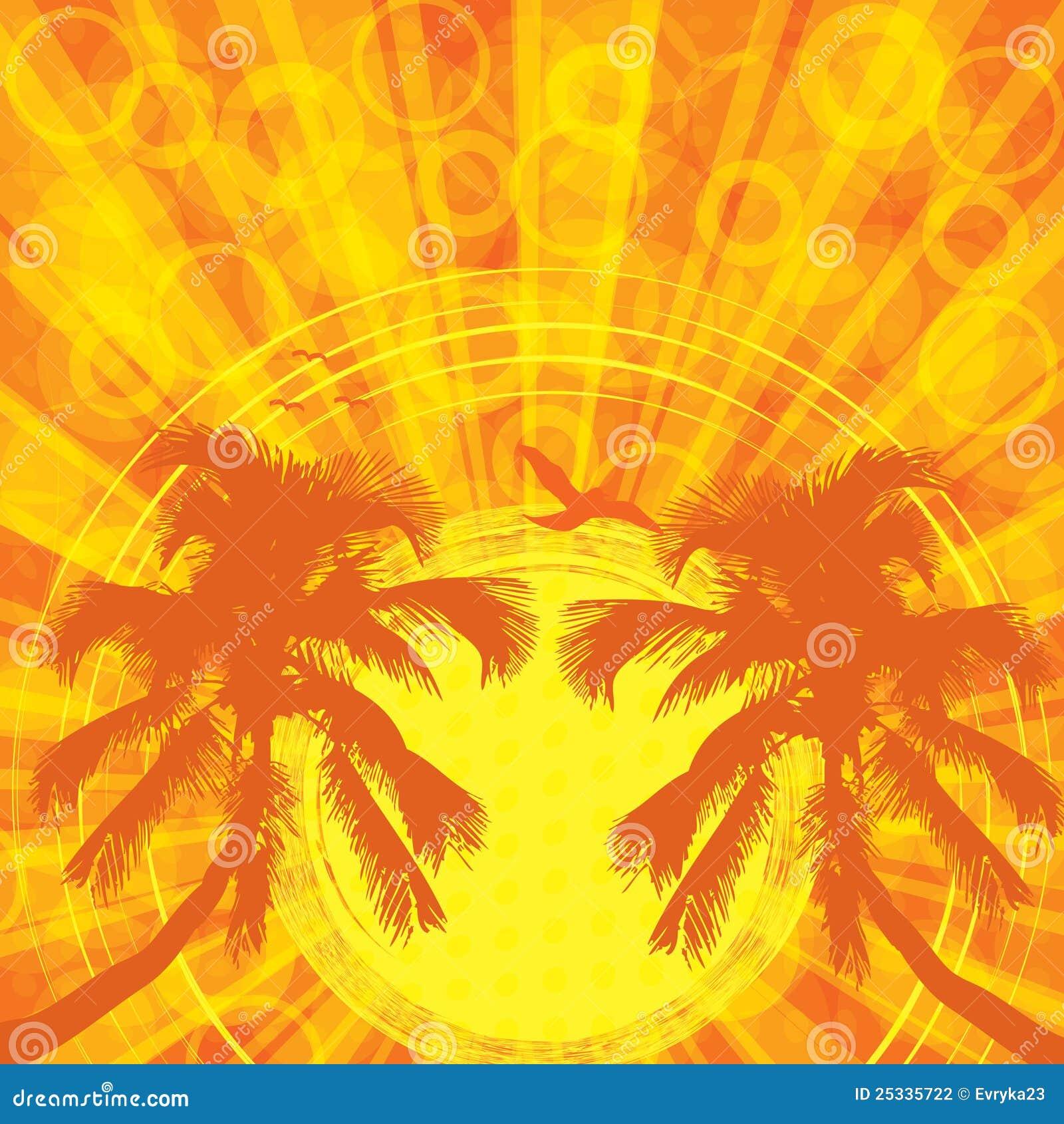 Fondo tropical del verano fotograf a de archivo imagen 25335722 - Fondos de escritorio verano ...