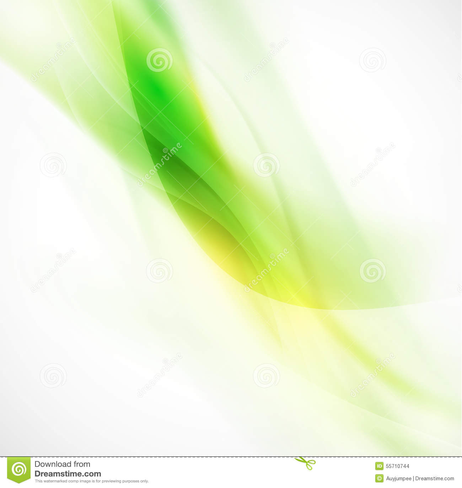 Fondo, vector y ejemplo verdes lisos abstractos del flujo