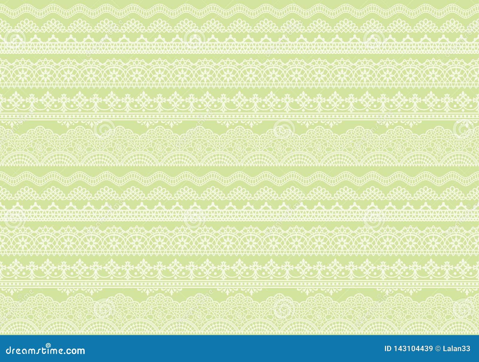 Fondo verde amarillo de los ajustes del cordón