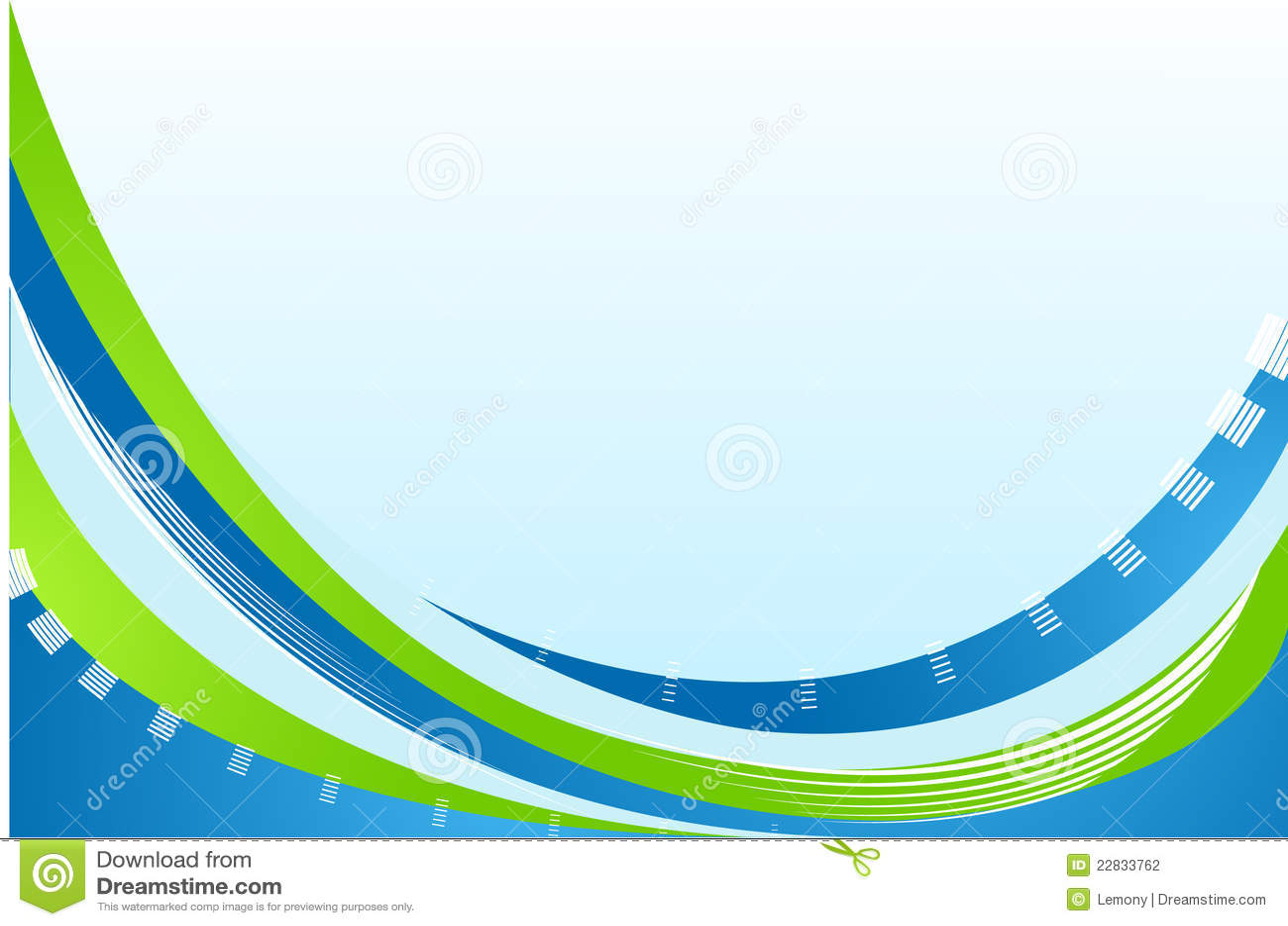 Fondo Verde Y Azul Abstracto Fotografía De Archivo
