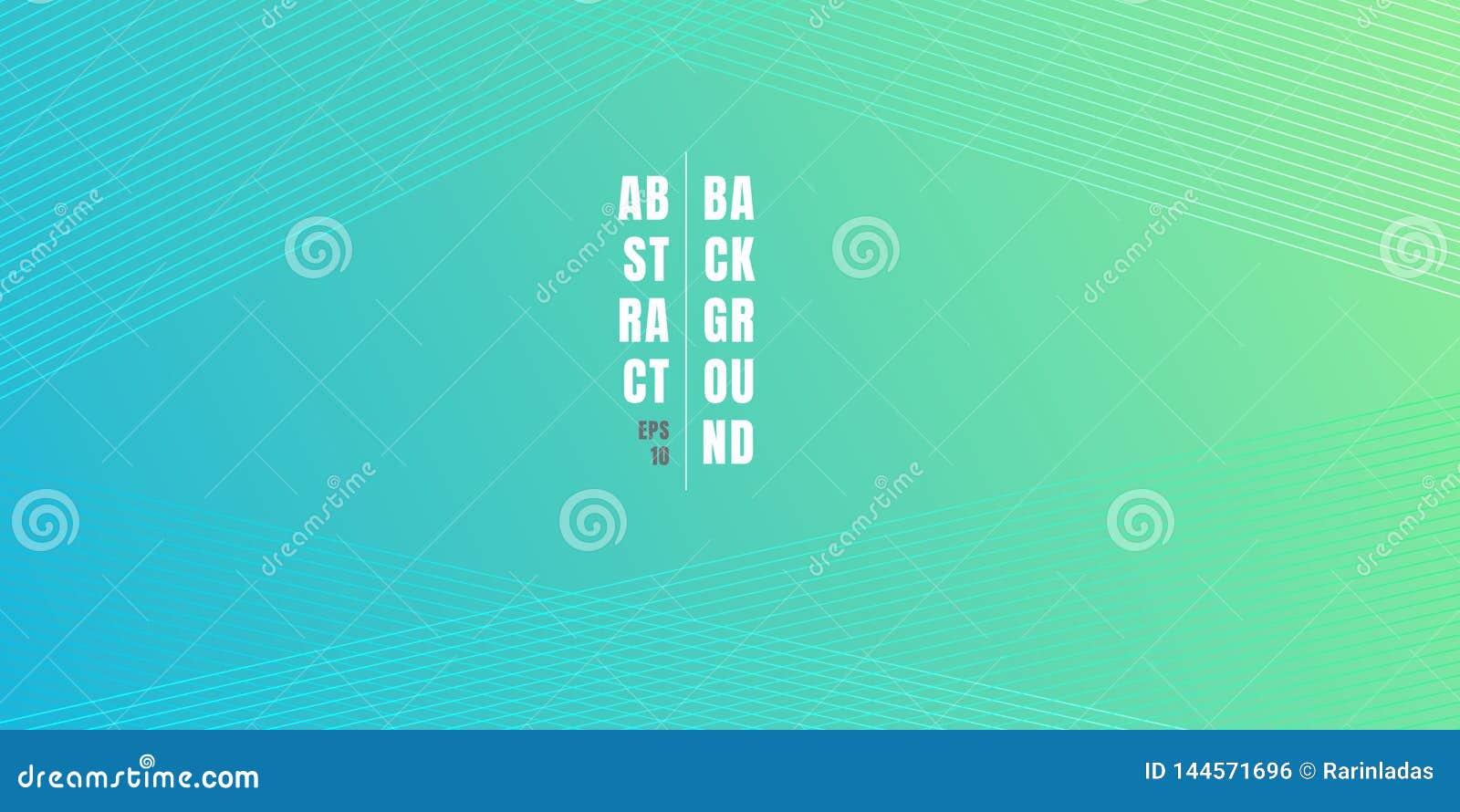 Fondo vibrante azul y verde abstracto de la pendiente del color con las l?neas diagonales textura del modelo Contexto de color cl