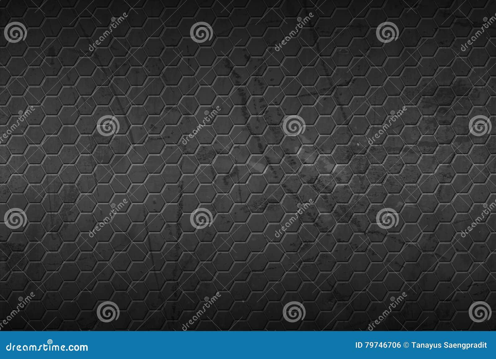 Fondo y textura del hexágono