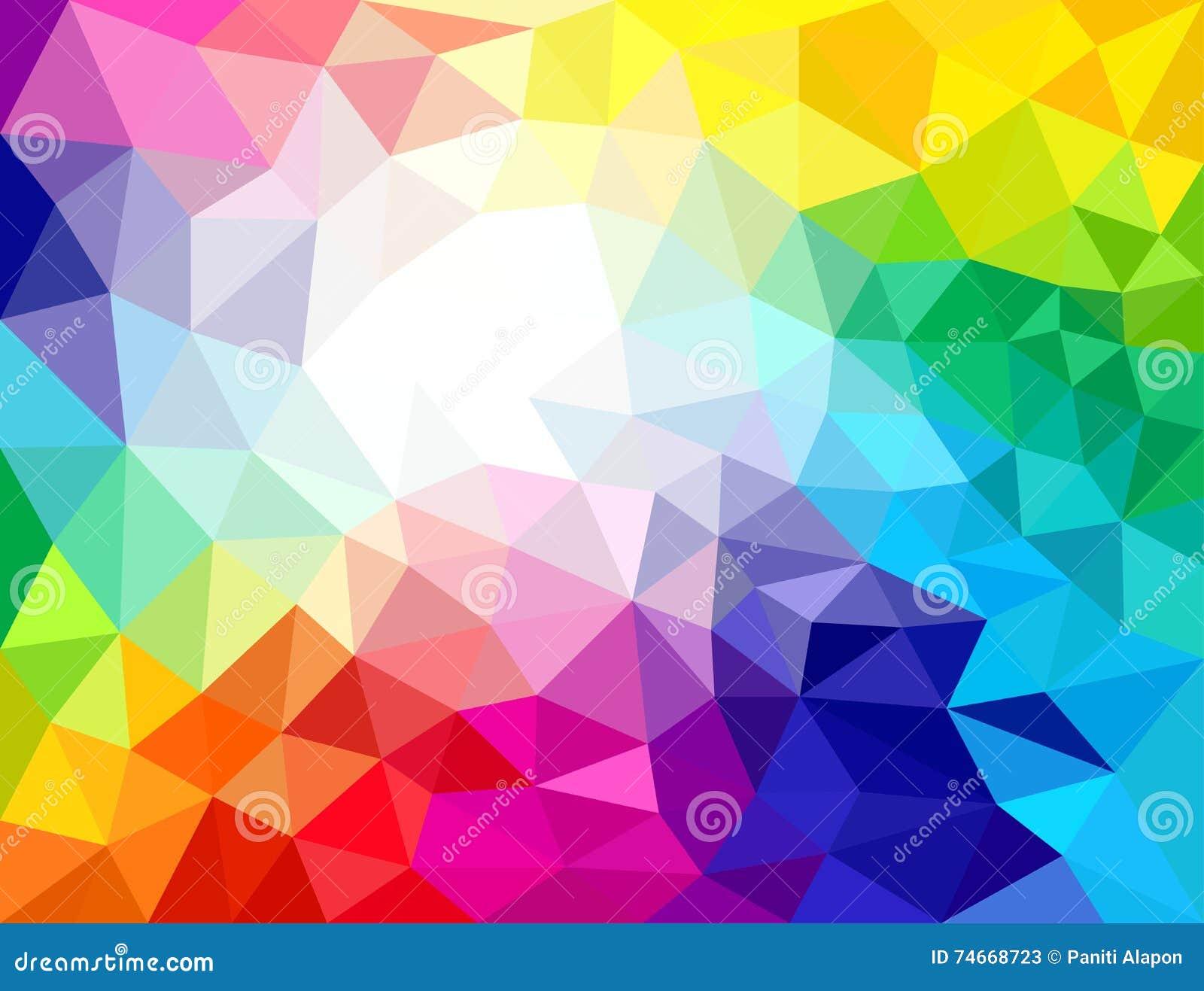 Fondos abstractos de los colores geom tricos ilustraci n for Imagenes de cuadros abstractos grandes