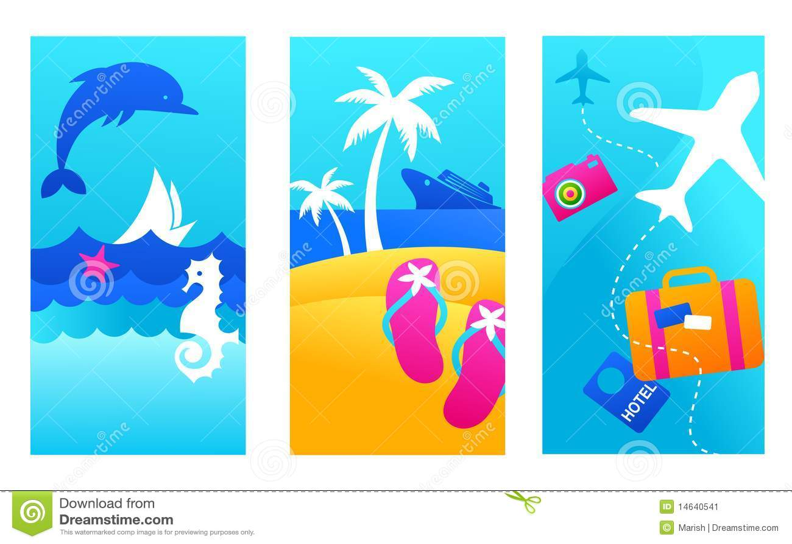 Fondos De Las Vacaciones De Verano Imagen de archivo - Imagen ...