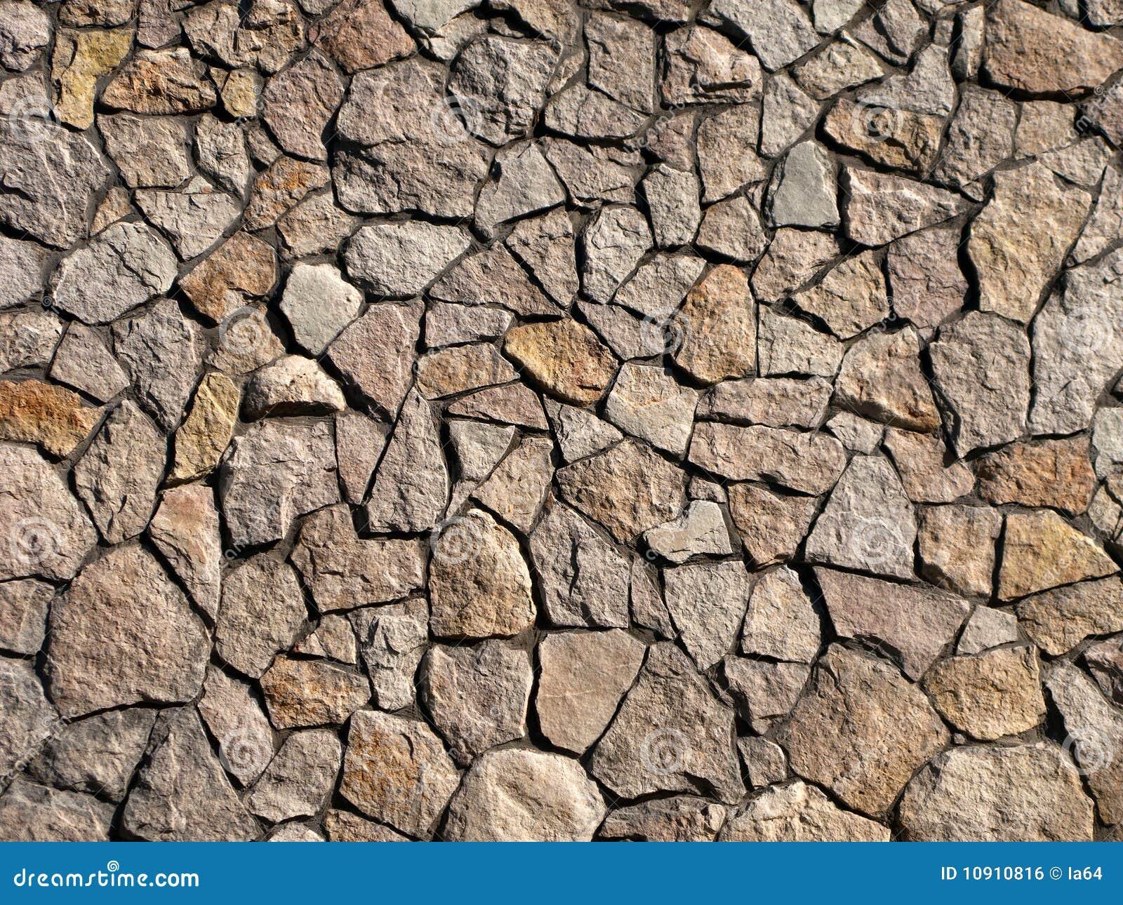la textura de la vieja pared de roca de fondo Fotos