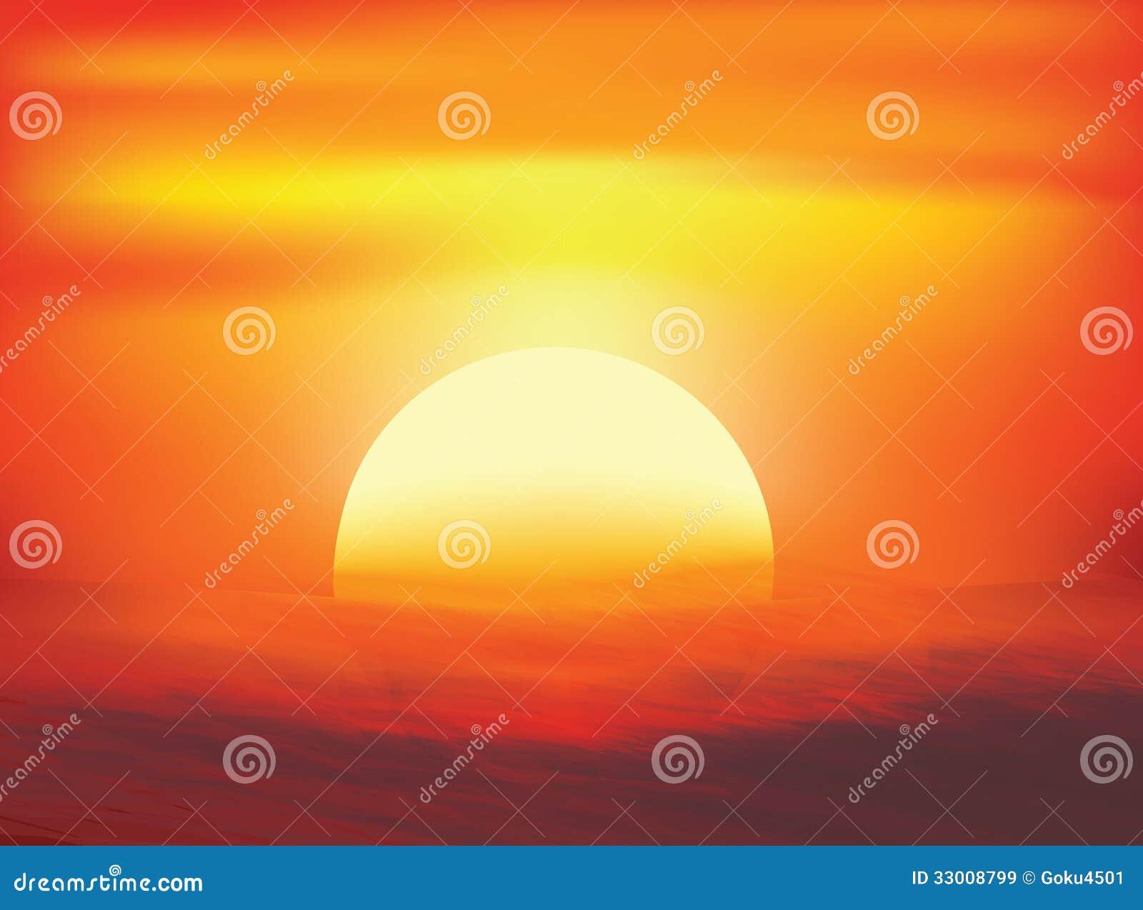 Fondos del arte abstracto de la puesta del sol im genes de for Fondo del sol