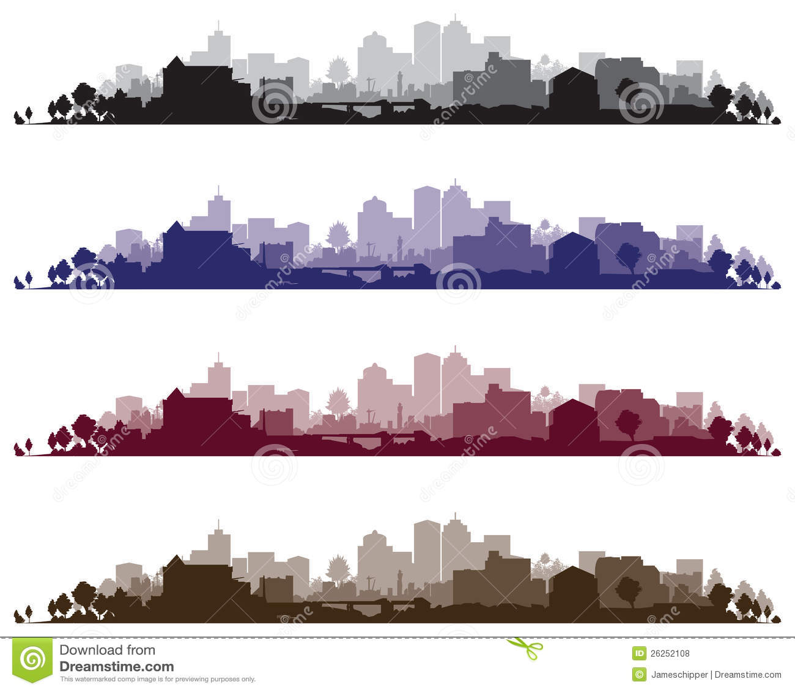 Fondos del paisaje urbano